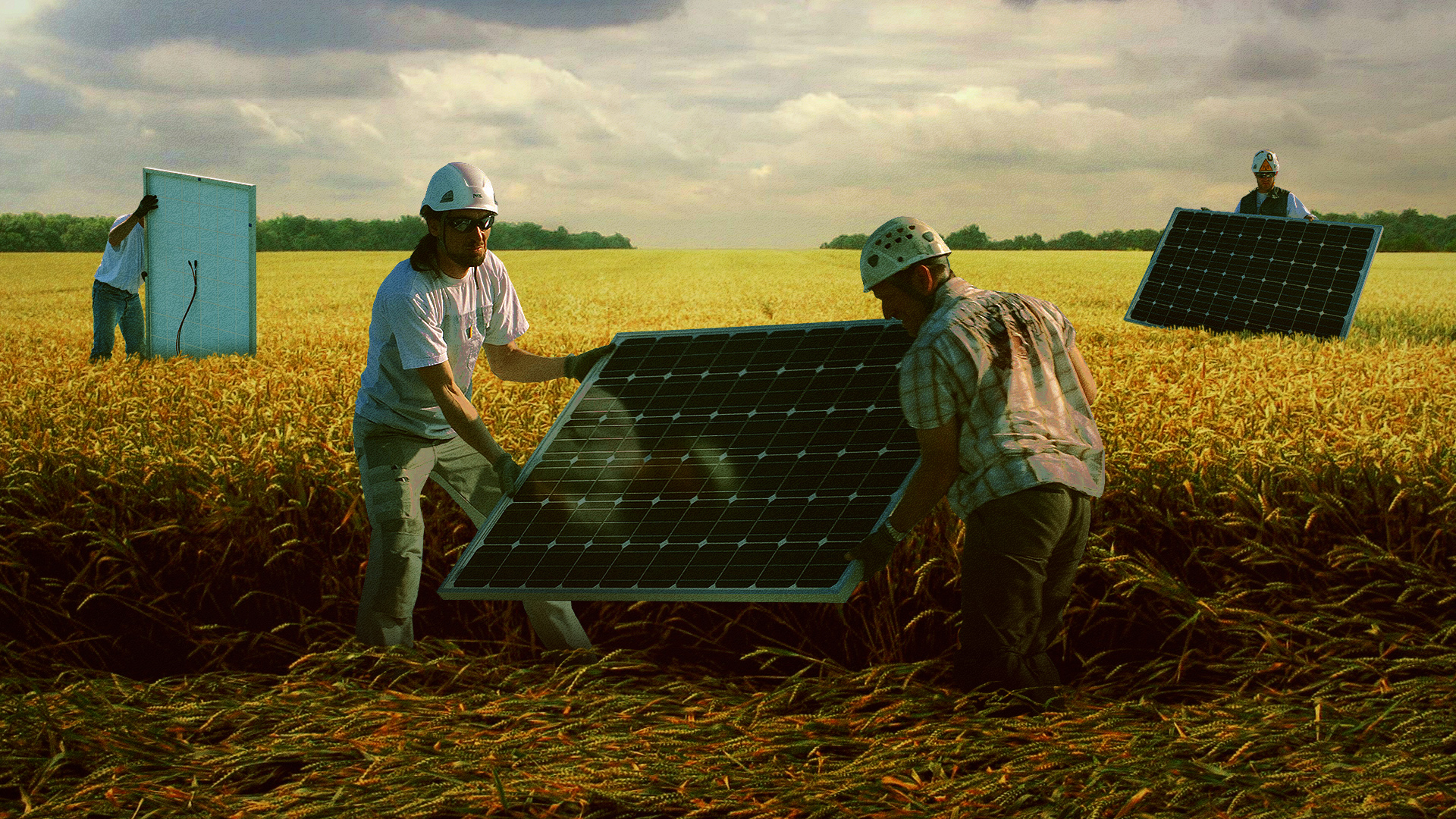 Az állam segít elvenni a földeket, ha a tulajdonosok nem akarják napelemes cégnek adni
