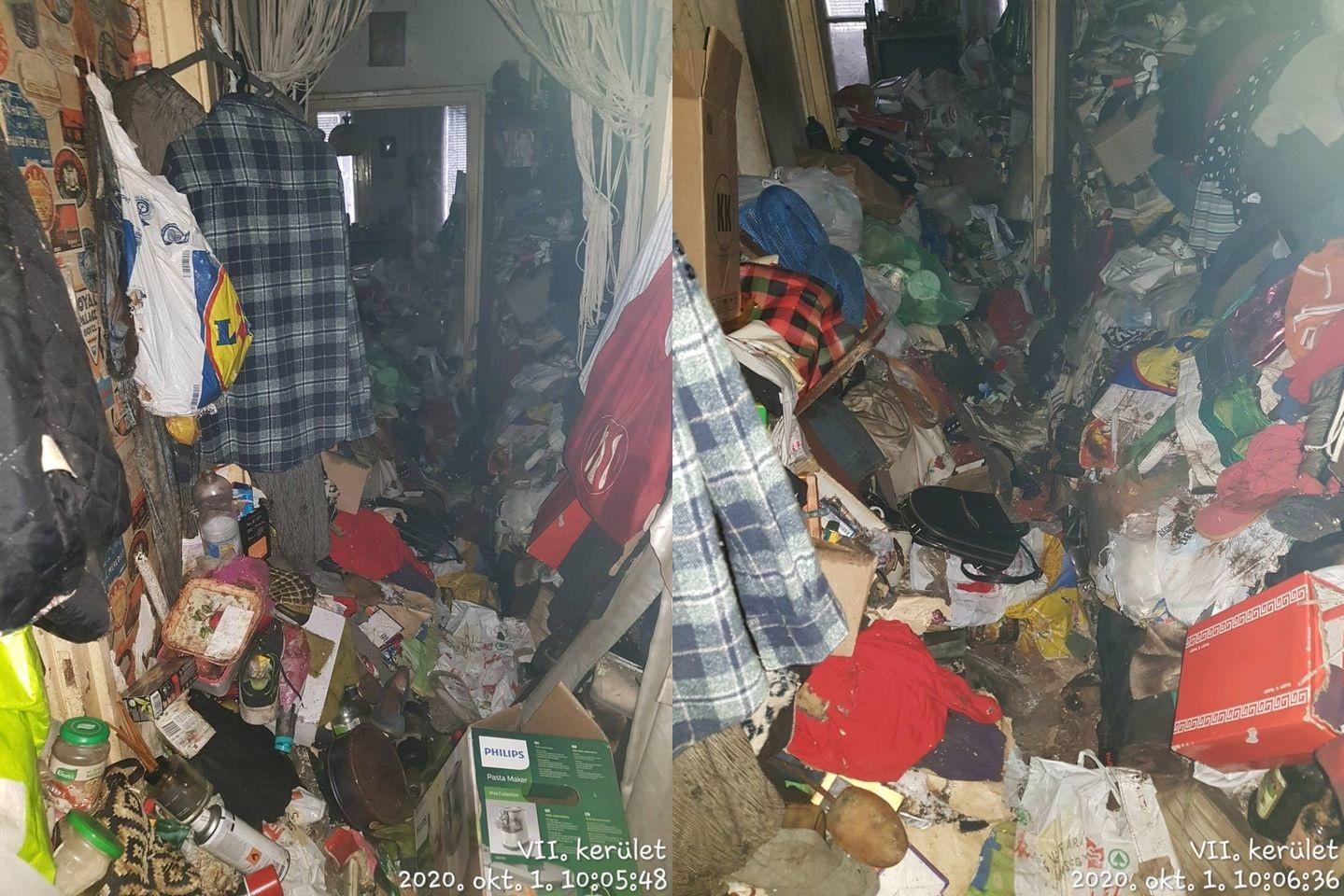 Egy nappal a cikkünk megjelenése után megoldották a VII. kerületi társasház szemétben és mocsokban élő lakójának ügyét