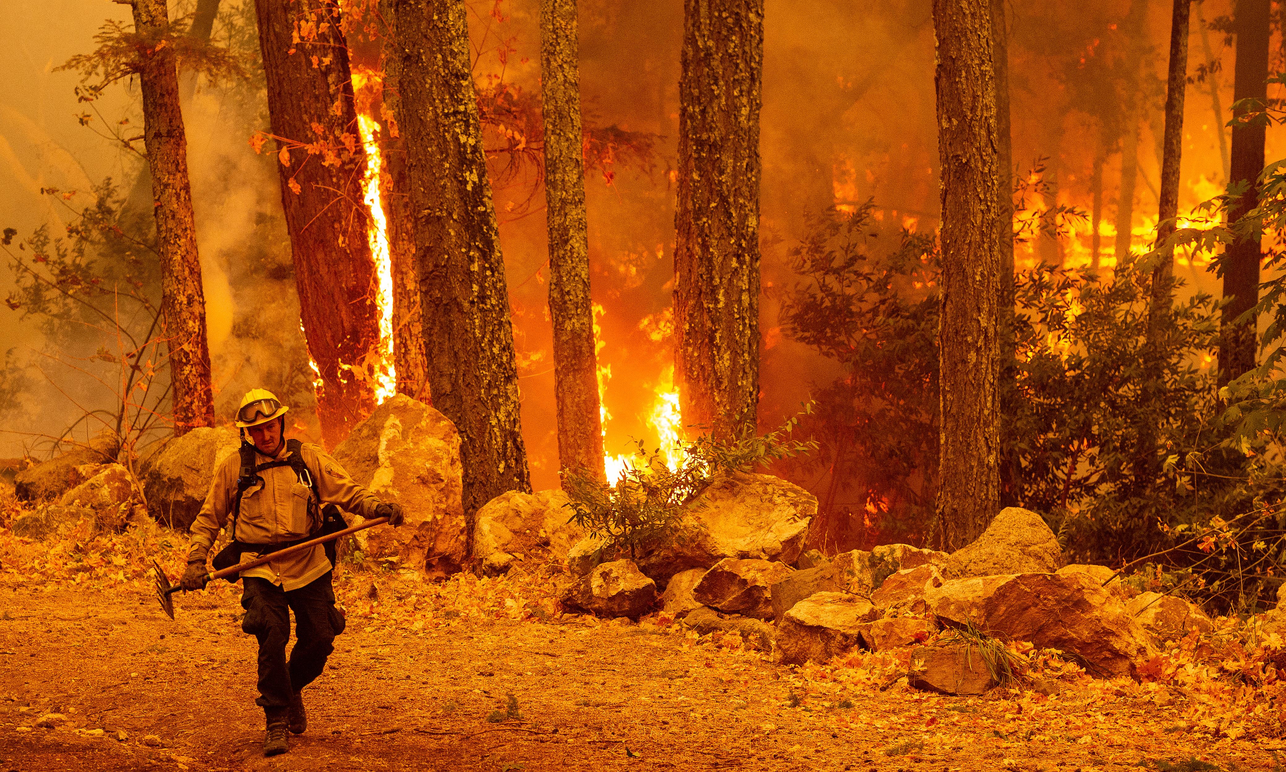 Nem ereszti Kaliforniát a hőség, nem szűnnek az eget füstbe borító erdőtüzek
