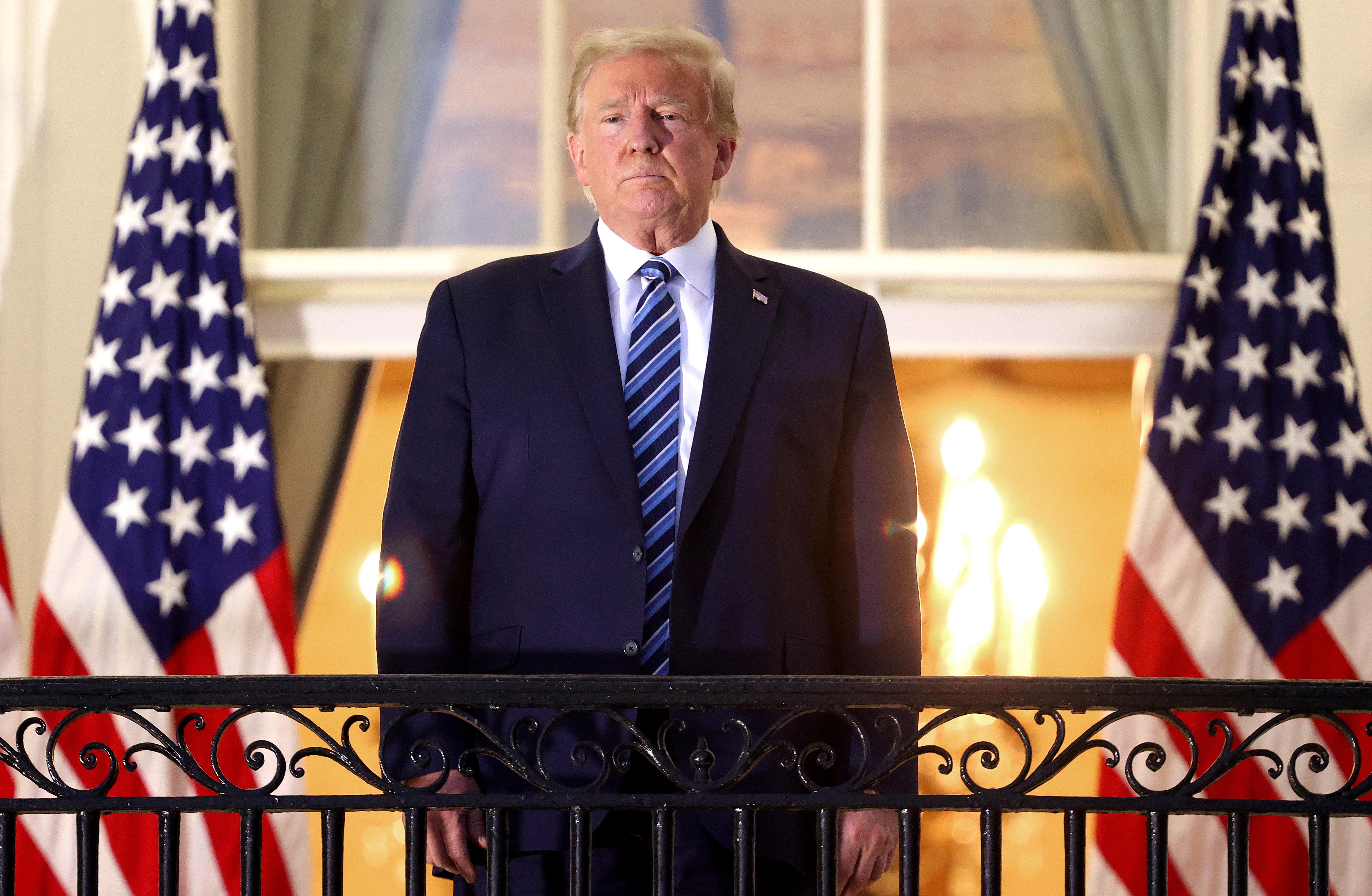 Meghekkelték Trump kampányának hivatalos honlapját