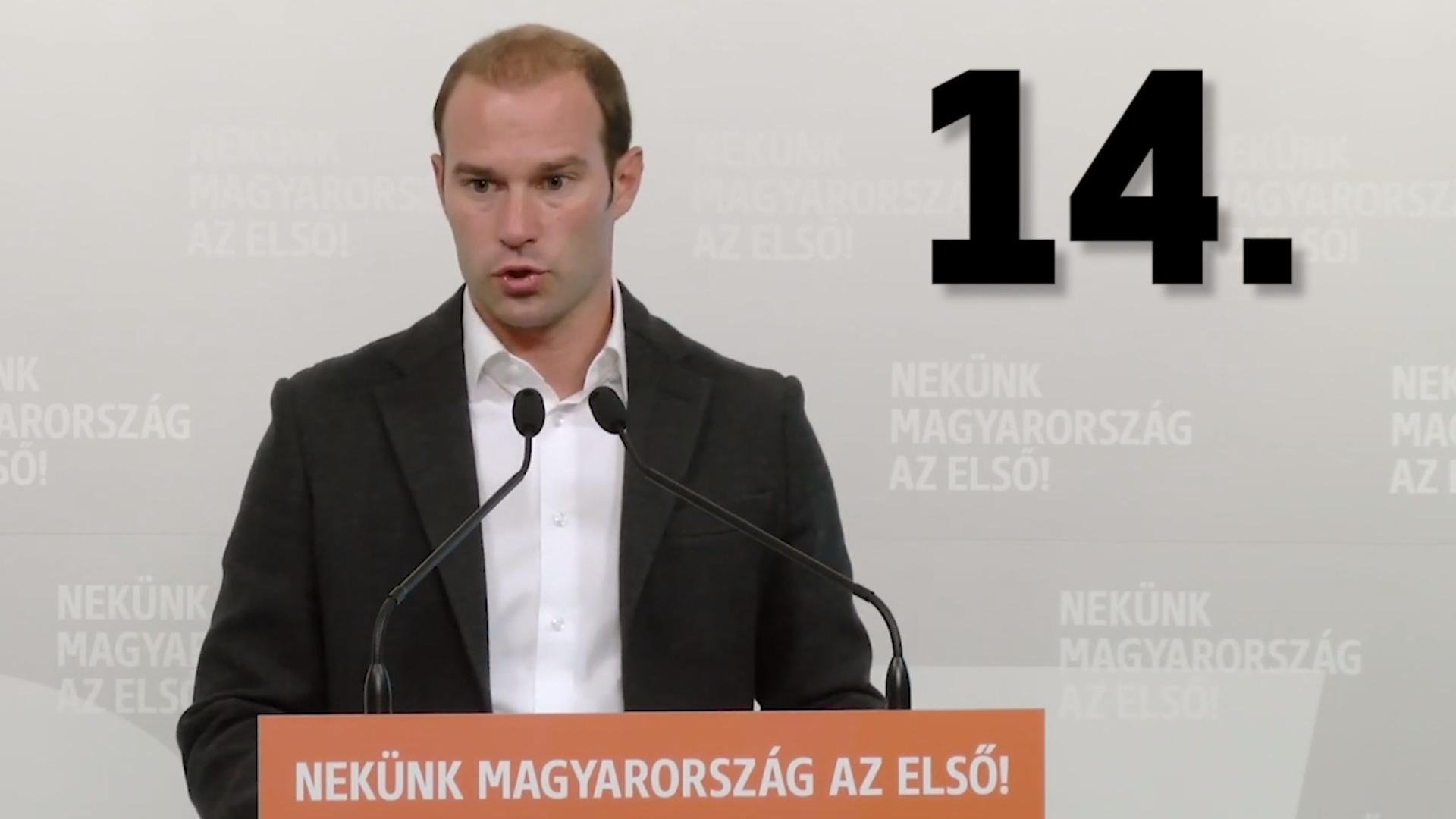 Hollik István rekordot döntött: 14-szer mondta ki, hogy Soros