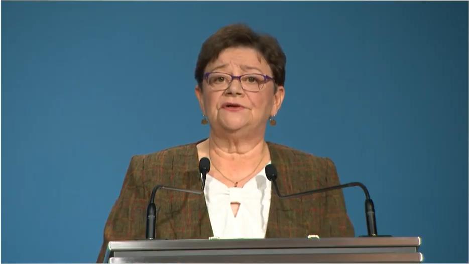 Müller Cecília is bejelentette, hogy vége a járvány harmadik hullámának