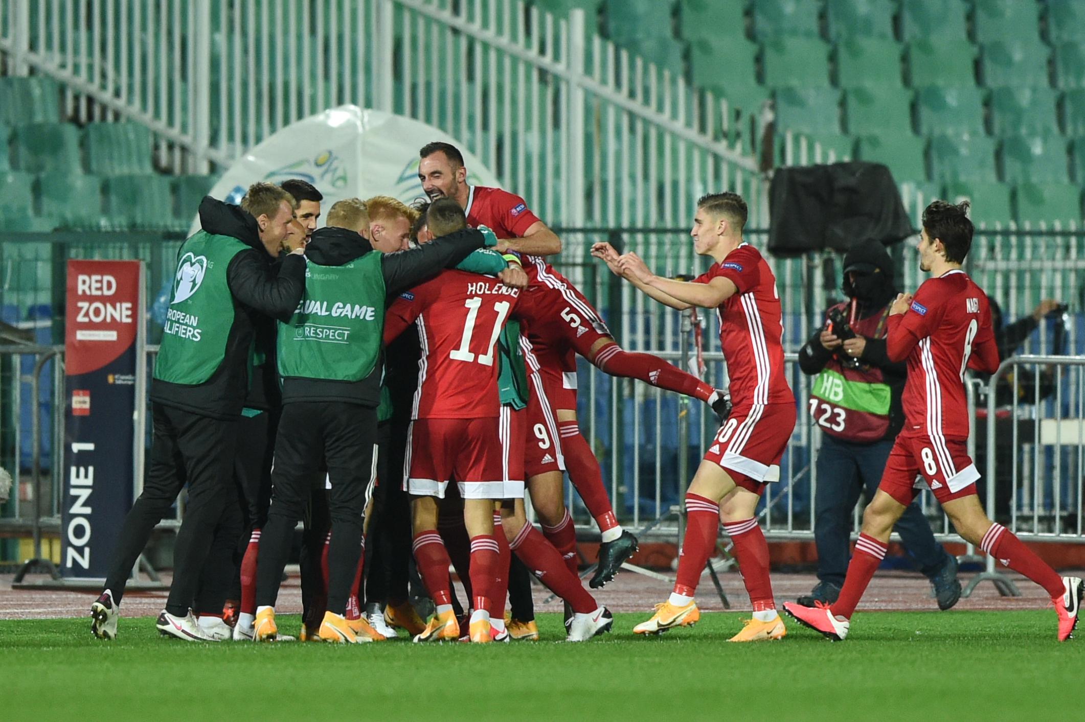 Legyőzte Bulgáriát a magyar válogatott, Izland ellen játszhat az Európa-bajnokságért