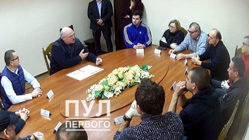 Lukasenka elnök börtönben járt