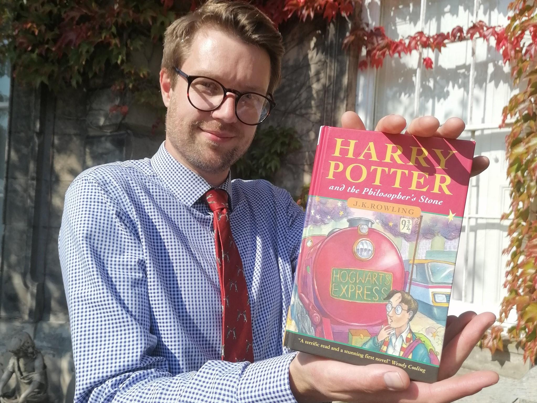 30 millió forintért szerezte meg valaki a Harry Potter első brit kiadását