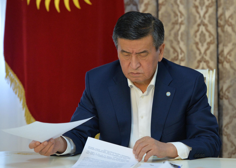 Lemondott a kirgiz elnök