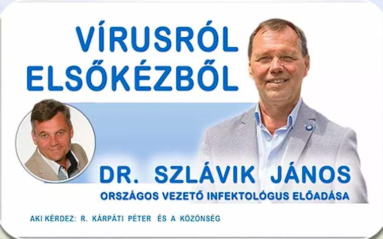 368 ezer forintot kérnek azért, hogy Szlávik János egyórás előadást tartson vidéken a járványról