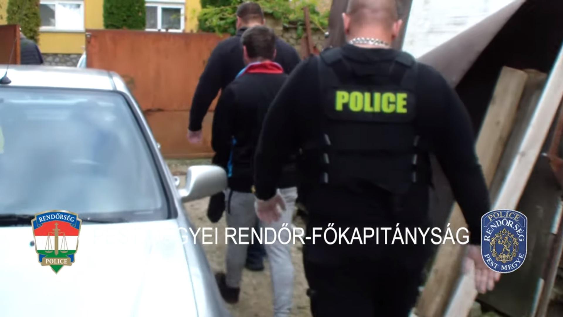 Letartóztattak egy 35 éves pedofil férfit