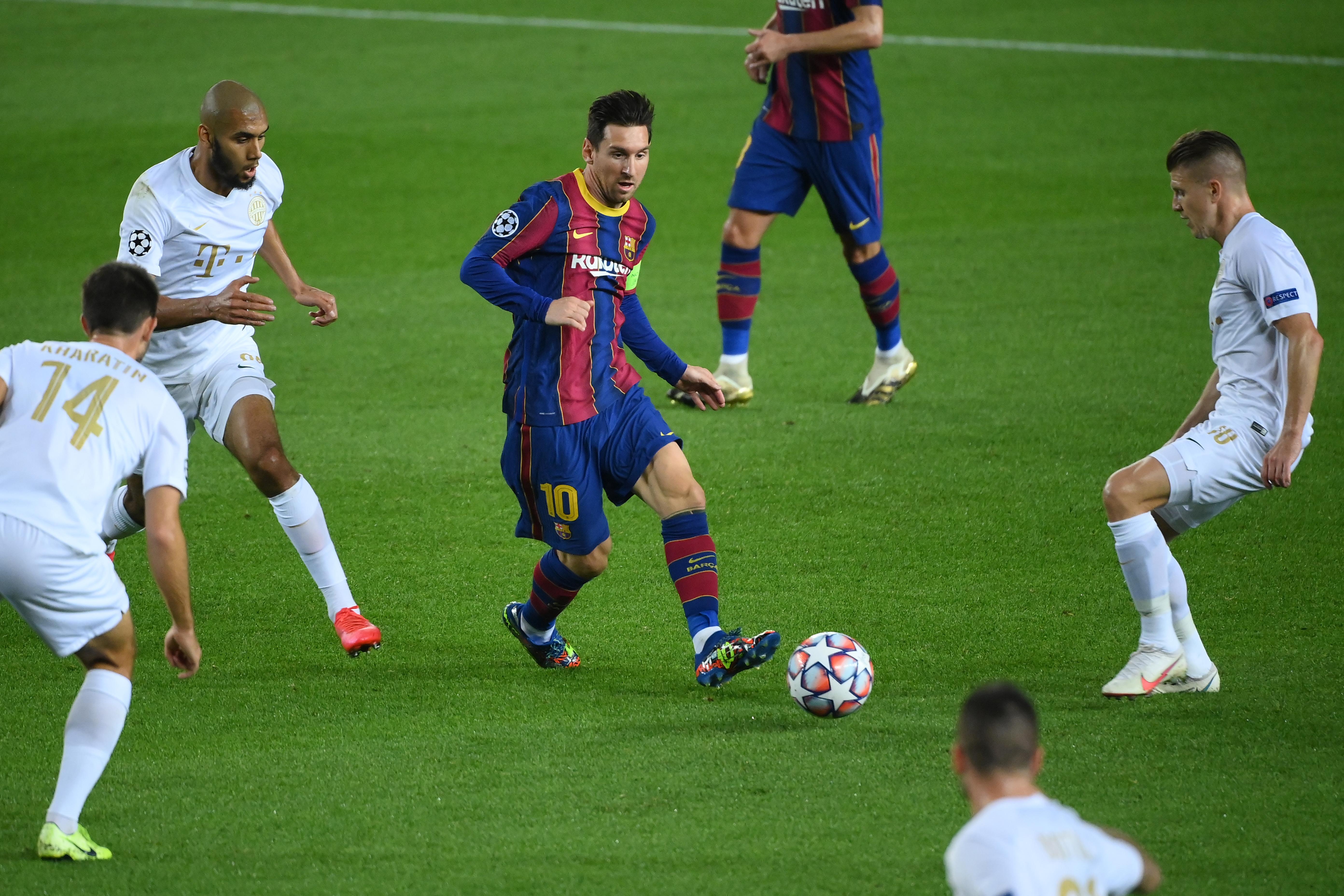 Messi 11-esével vezet a Barcelona a Fradi ellen