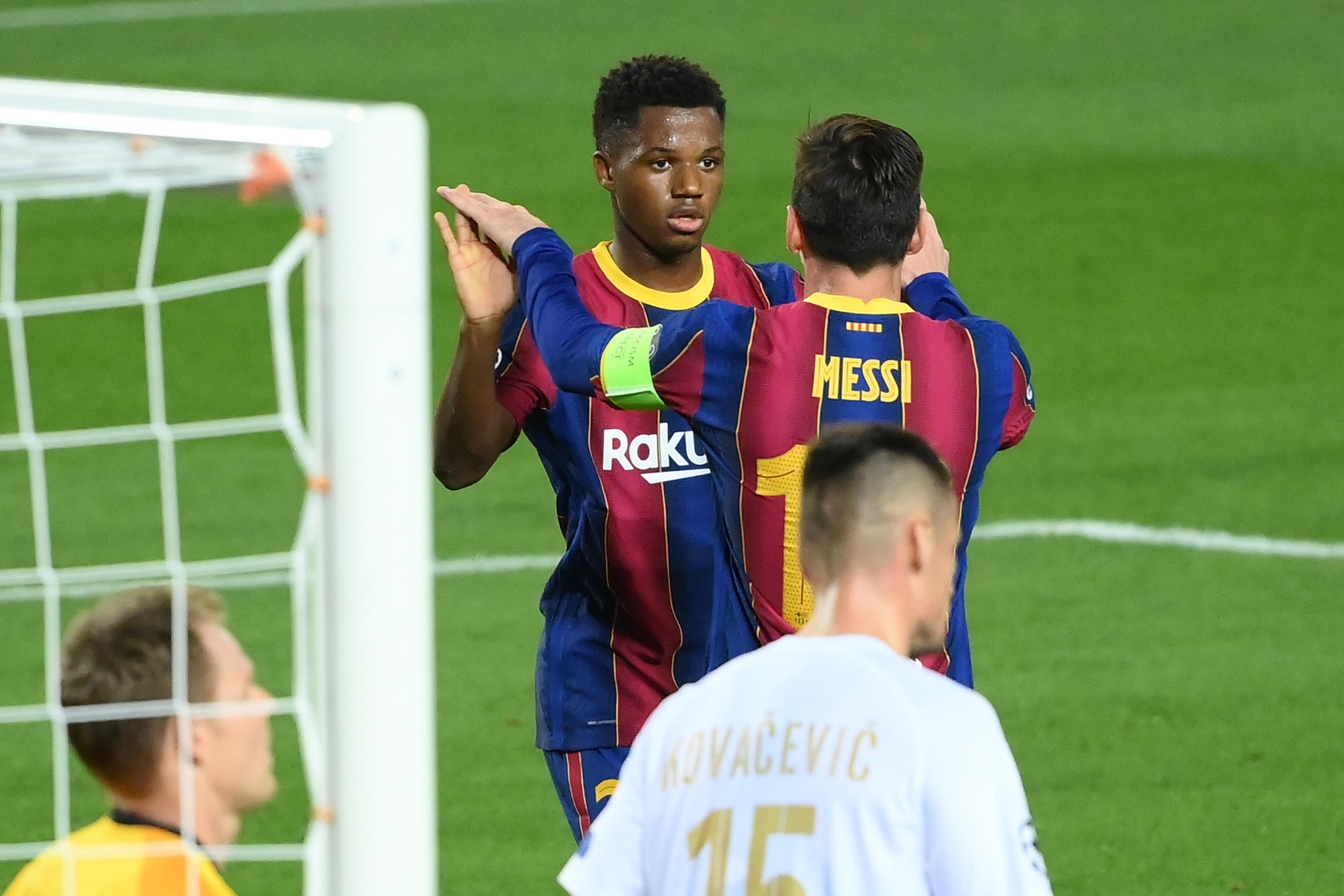 Fati góljával már 2-0 a Barcelonának