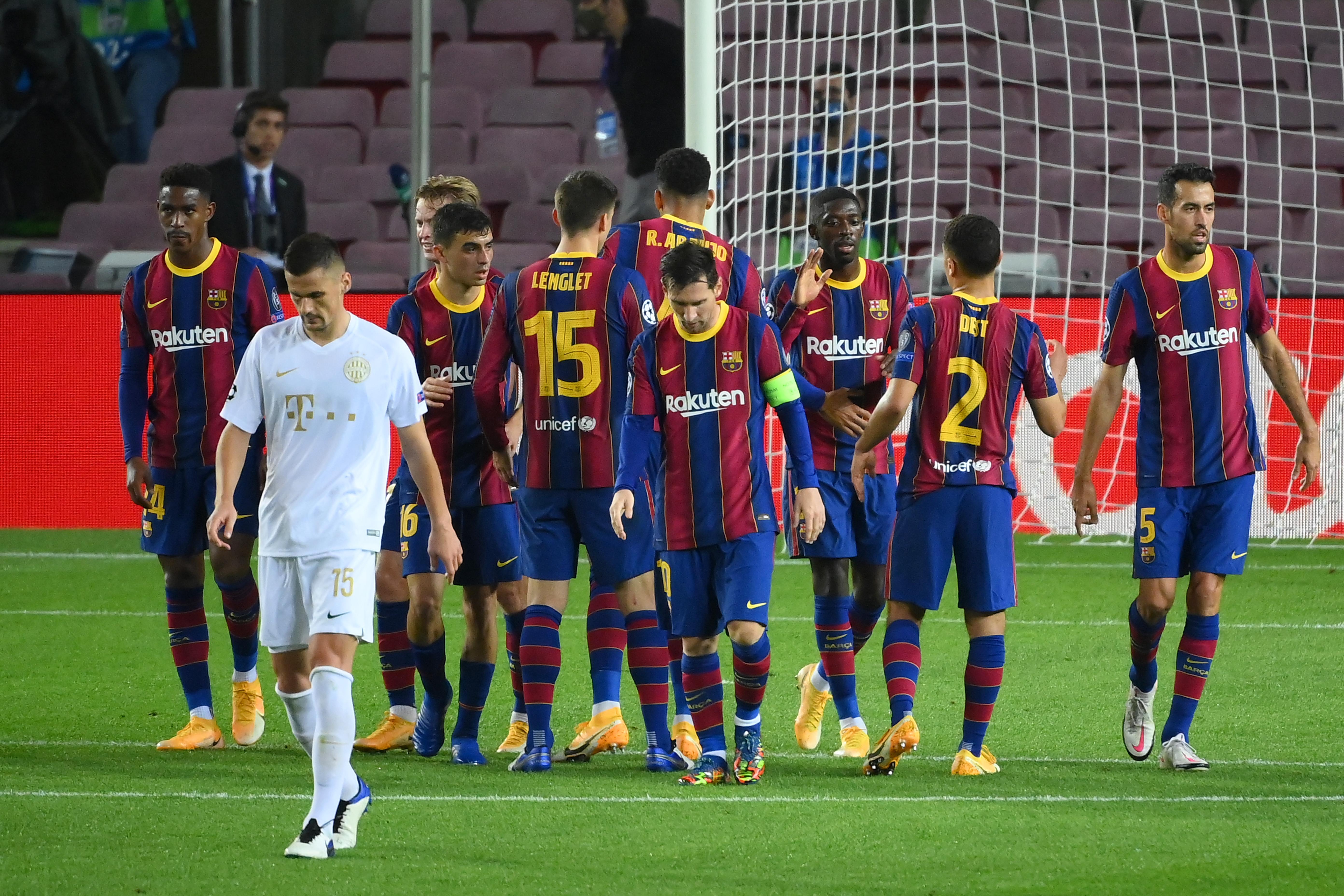 Sima, de nem megalázó vereséget szenvedett a Ferencváros Barcelonában