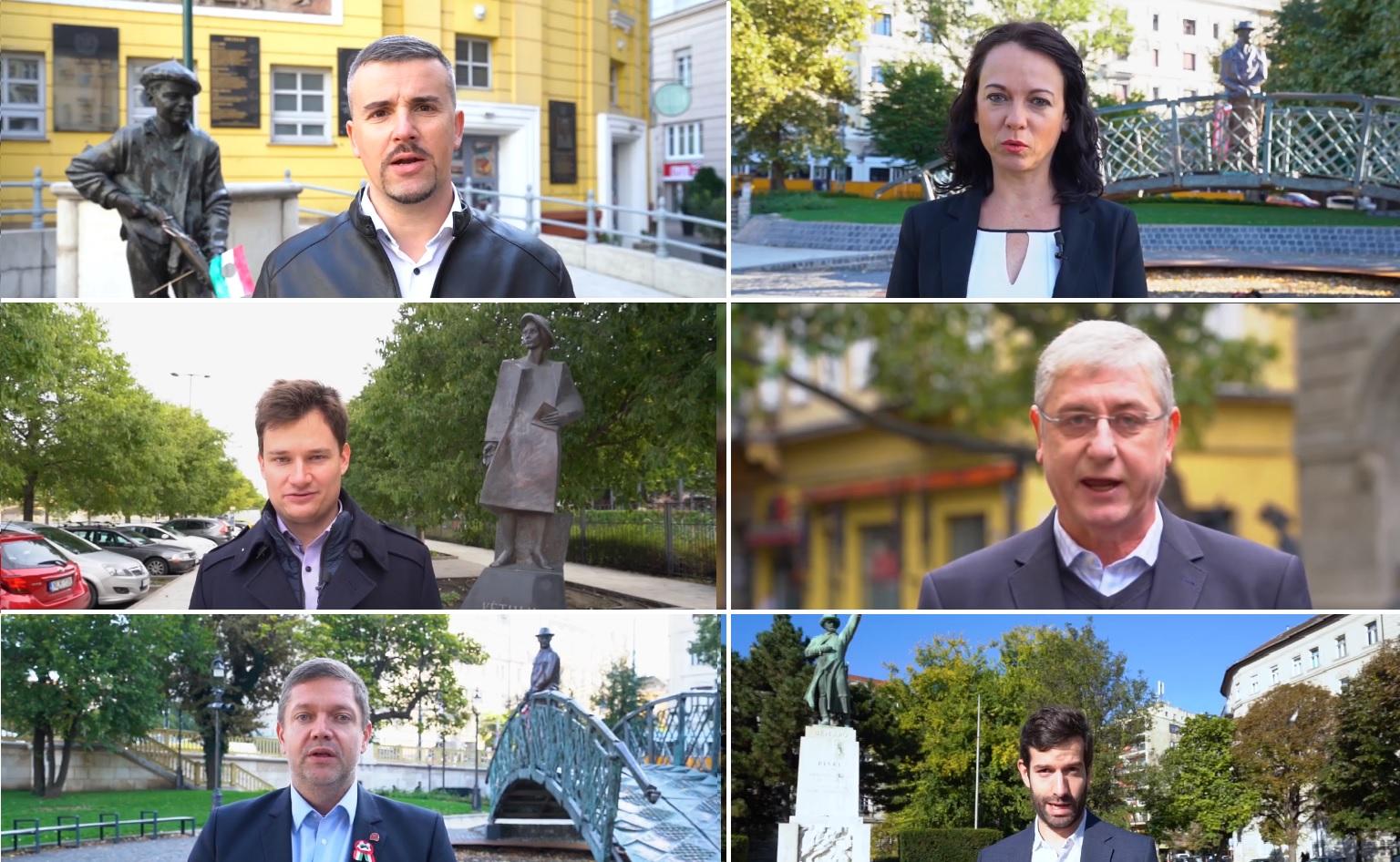 Közös videóban üzentek az ellenzéki pártok vezetői