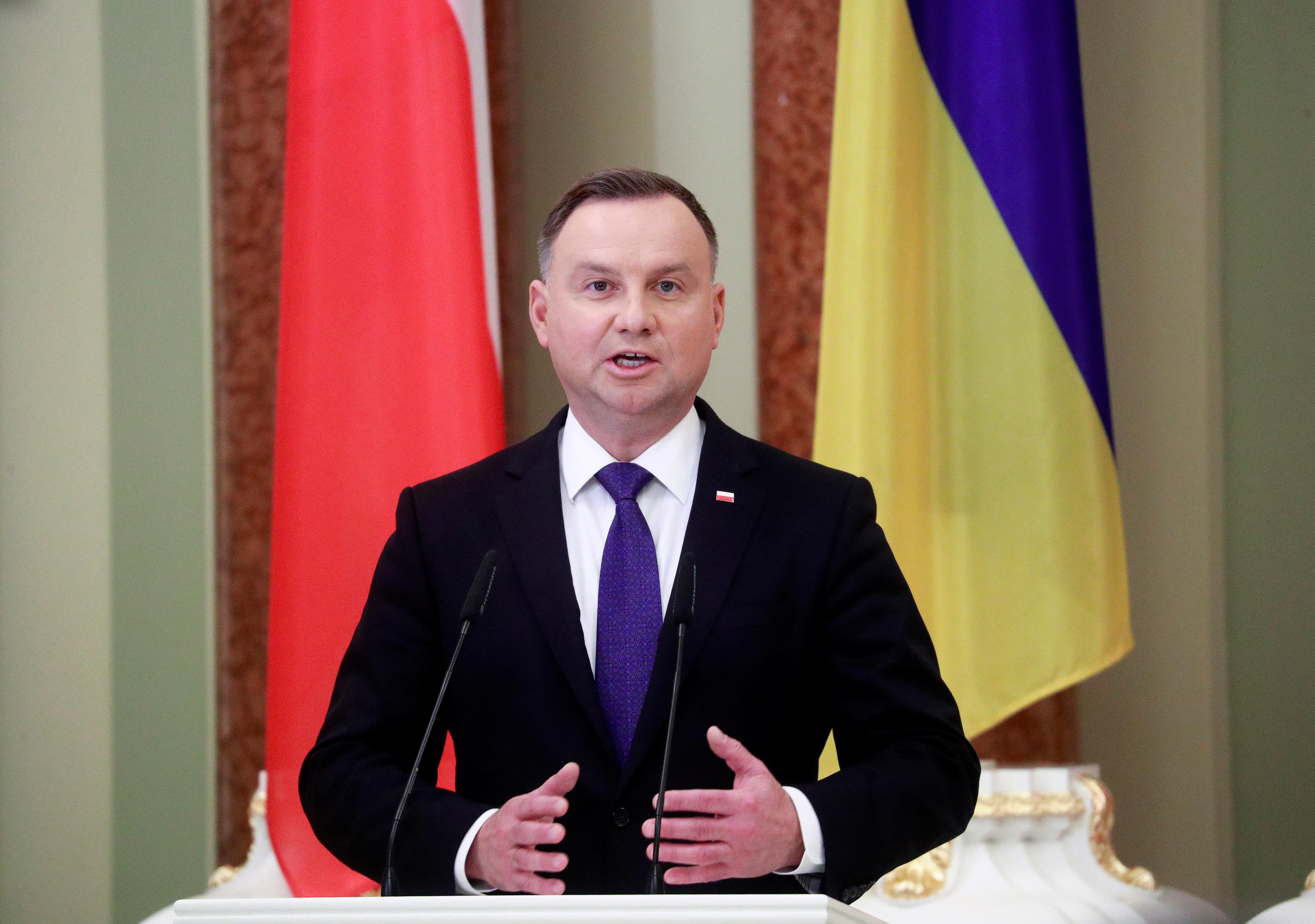 Elkapta a koronavírust a lengyel elnök