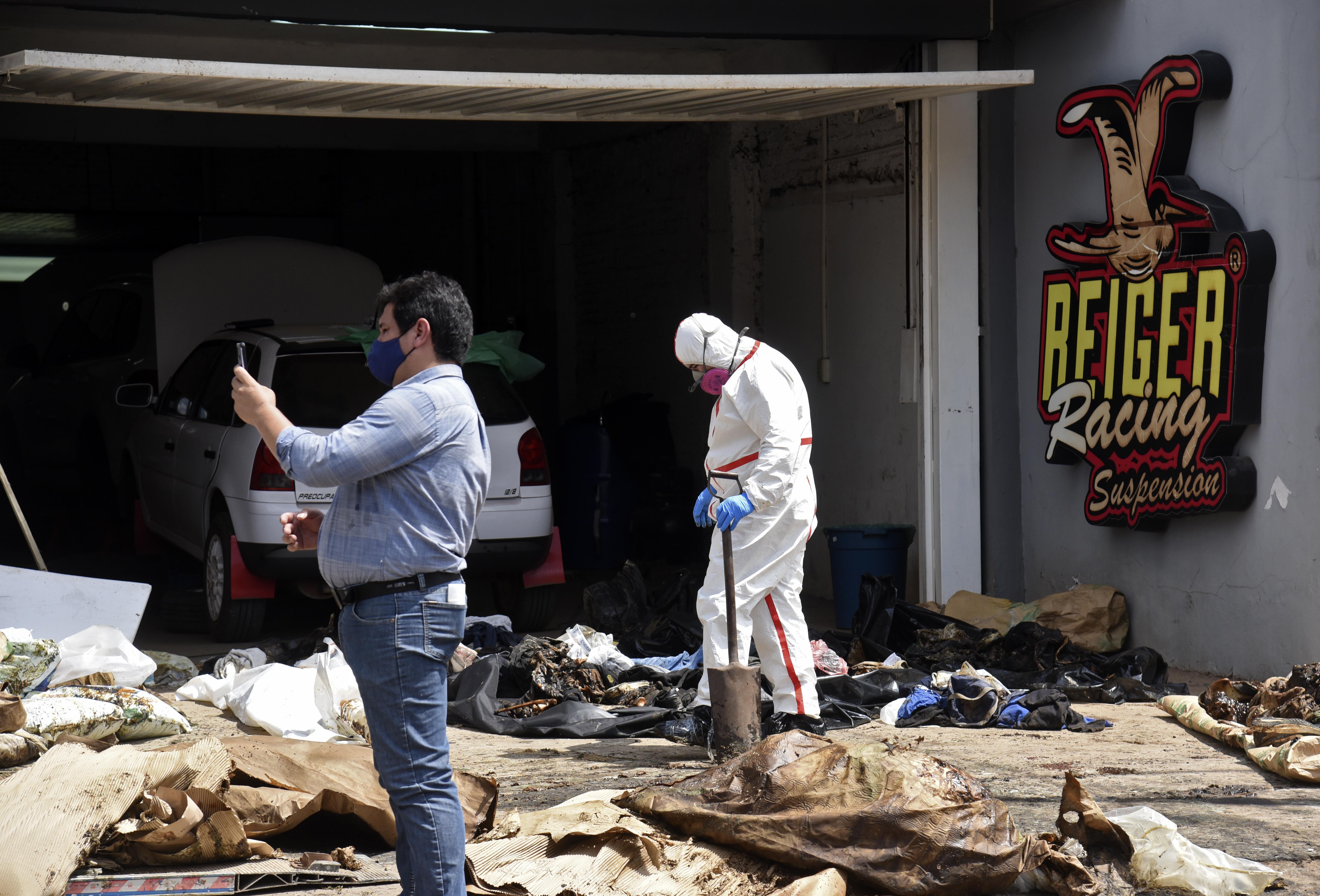 Lebomlott holttesteket találtak egy konténerben, ami júliusban indult Szerbiából Paraguayba