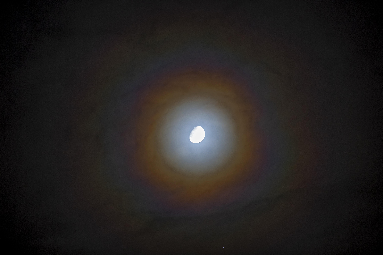 Nagyon szép volt az éjjel a Hold