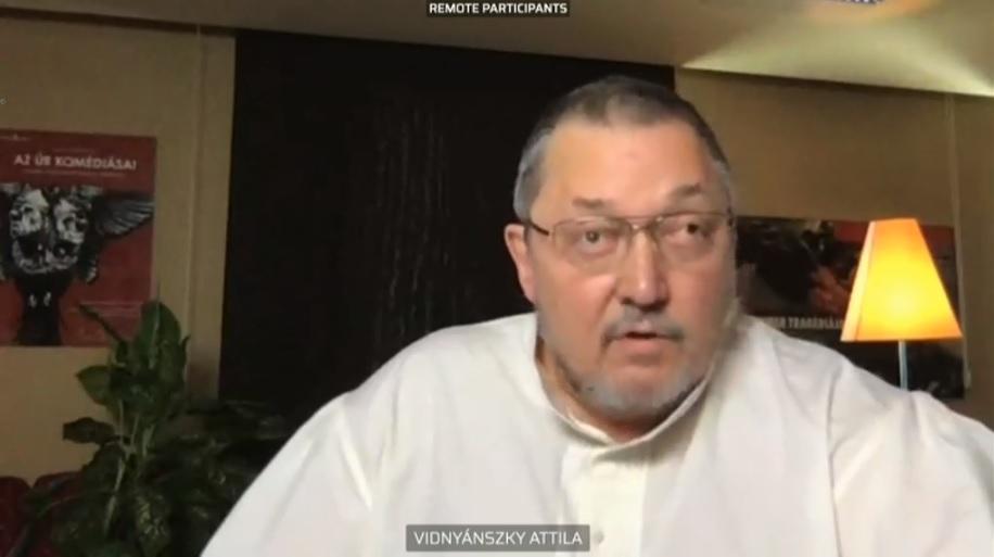Vidnyánszky: Az SZFE-tüntetés a baloldali pártok kampánynyitója volt