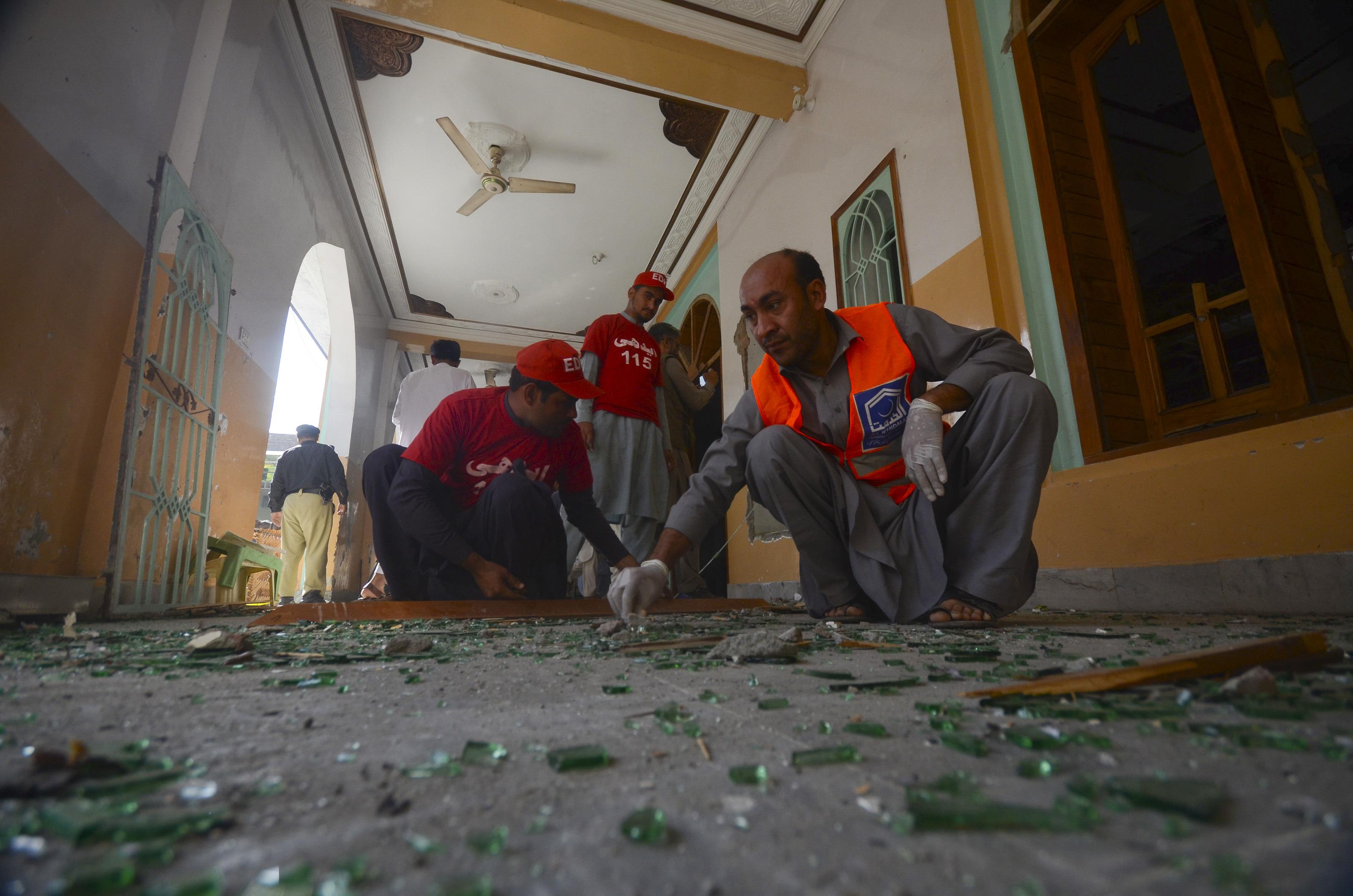 Pokolgép robbant egy vallási iskolában Pakisztánban