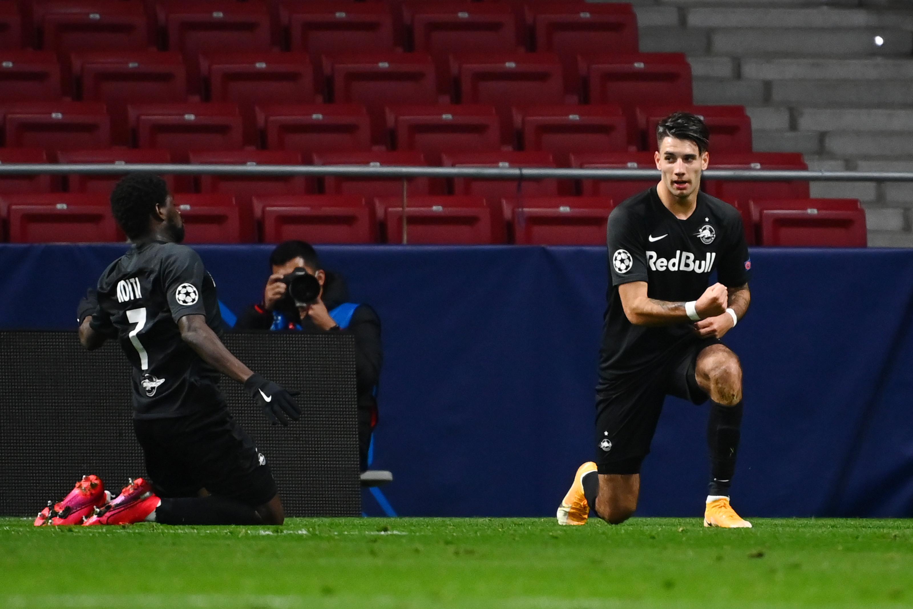 Szoboszlai nagyot játszott, gólt is lőtt, de a Salzburg végül kikapott az Atléticótól a BL-ben