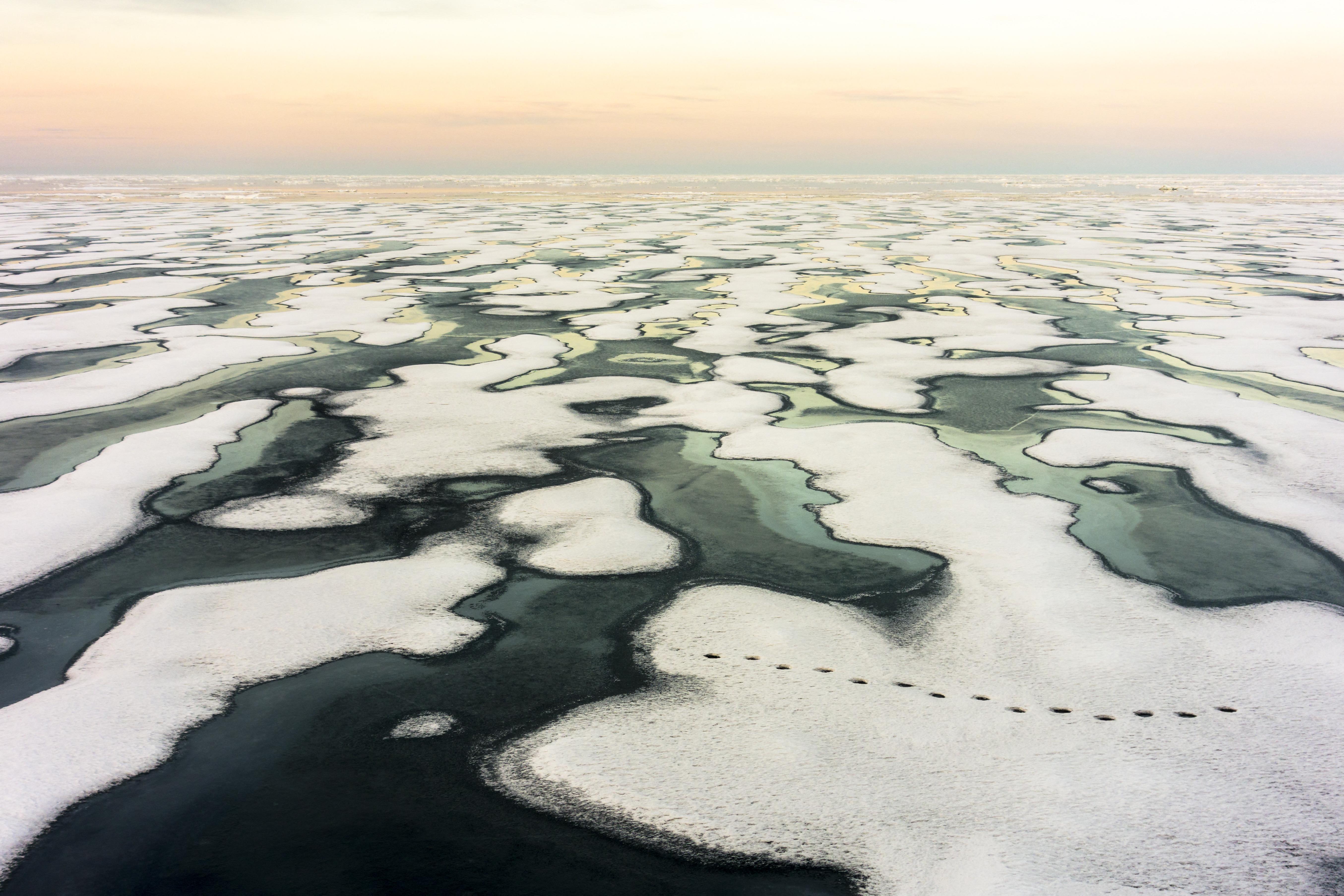 Amióta mérik, októberben még soha nem volt ennyire kicsi a északi-sarkvidéki tengeri jég