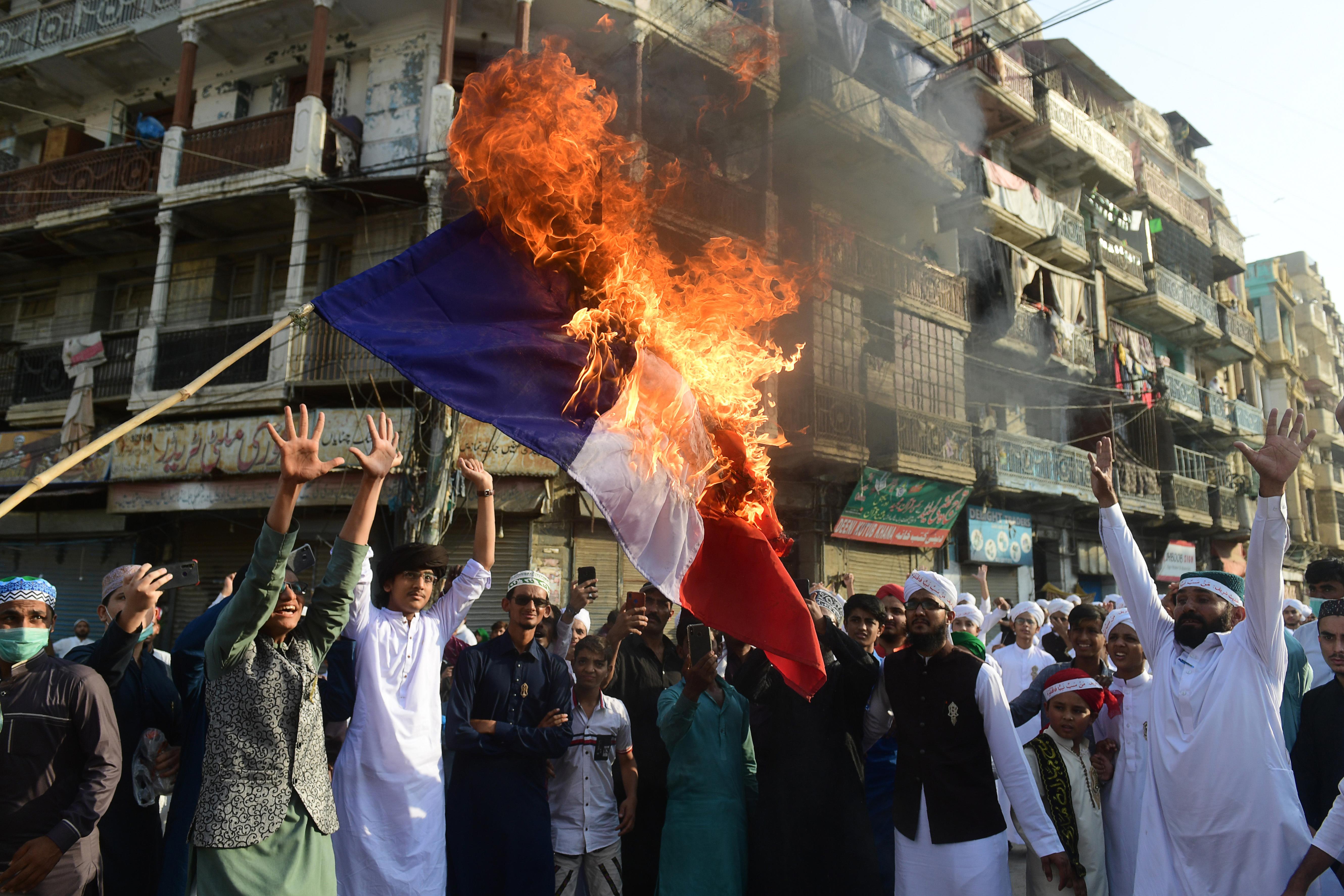 Hadjárat a francia szólásszabadság ellen