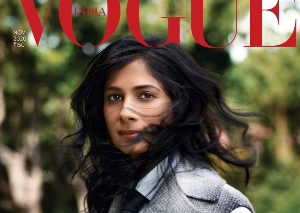 AZ IMF vezető közgazdásza lett az indiai Vogue egyik címlaplánya