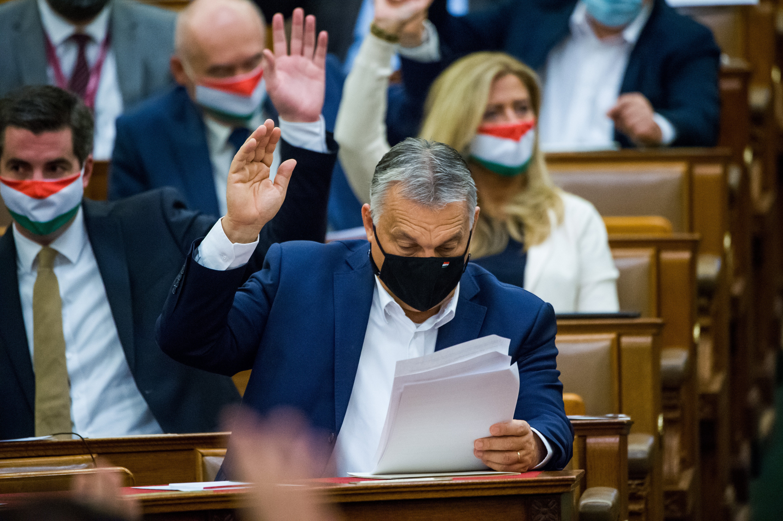 Megszavazták a felhatalmazási törvényt