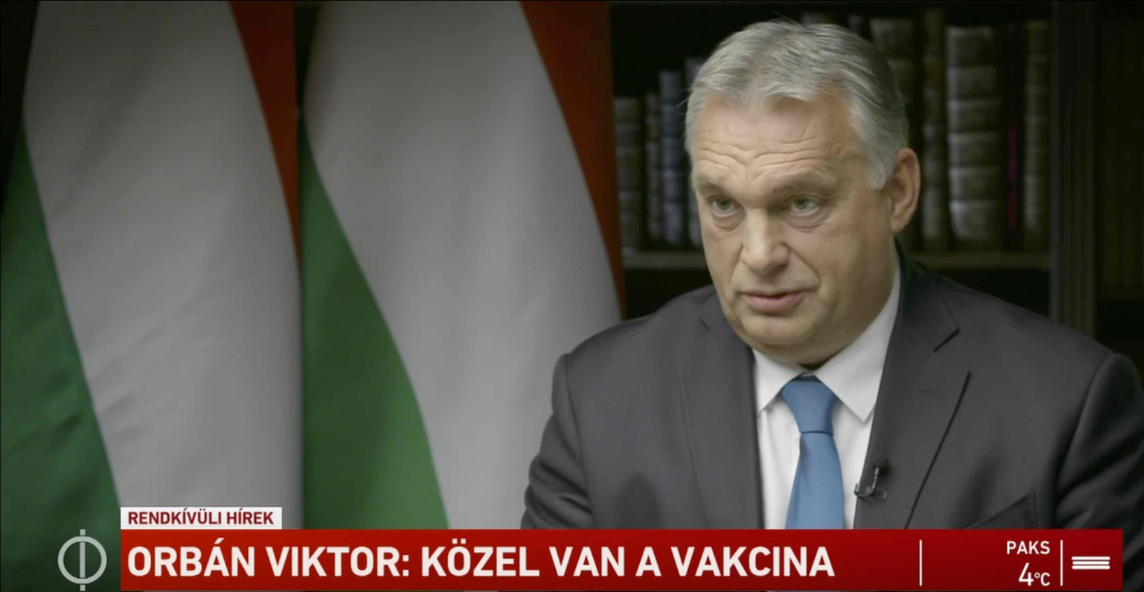 Orbán: 50 százalék, hogy az egészségügyi rendszer kitart