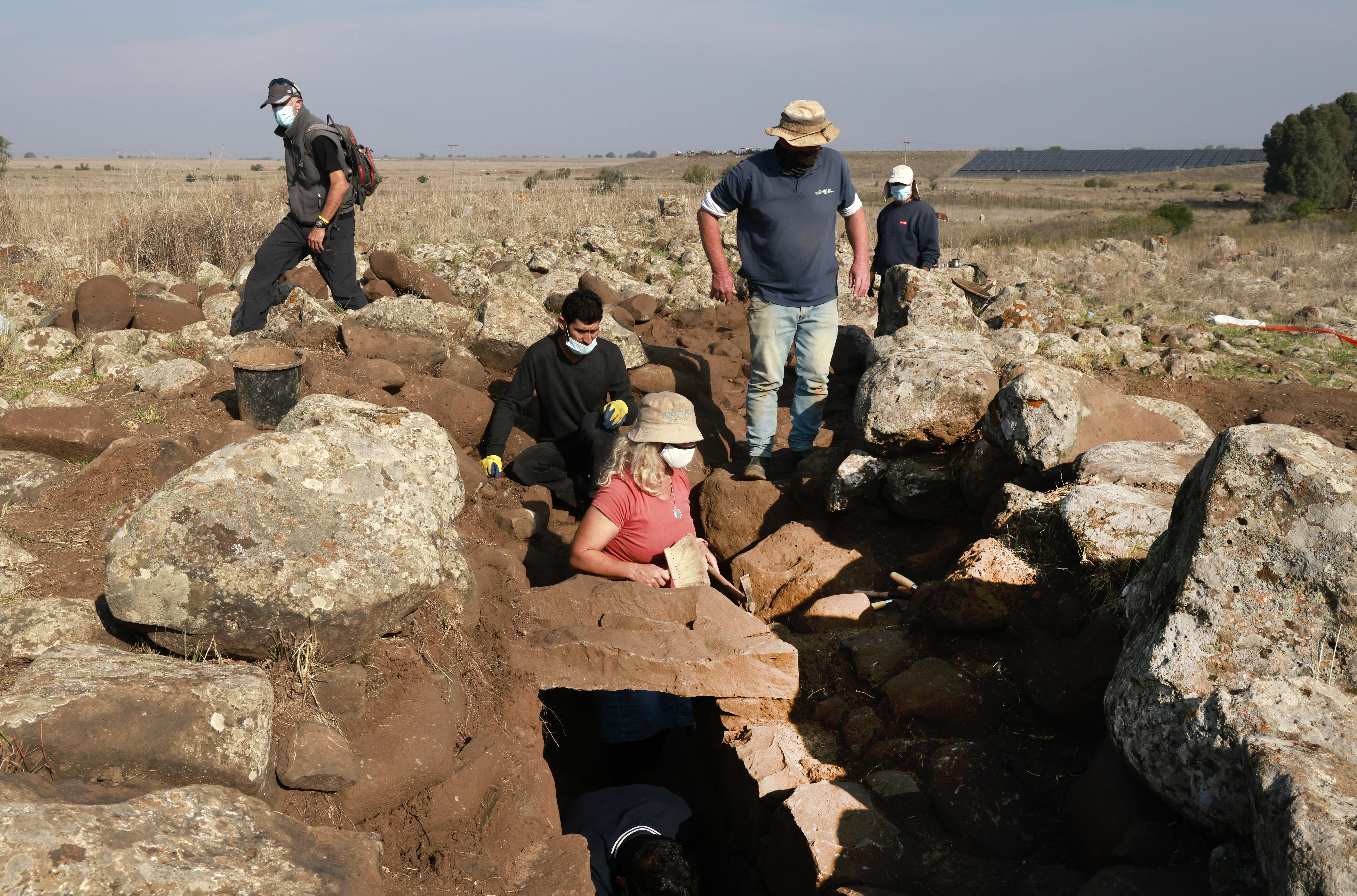 Egy most feltárt 3000 éves erőd lehet az első bizonyíték a gesuriták létezésére