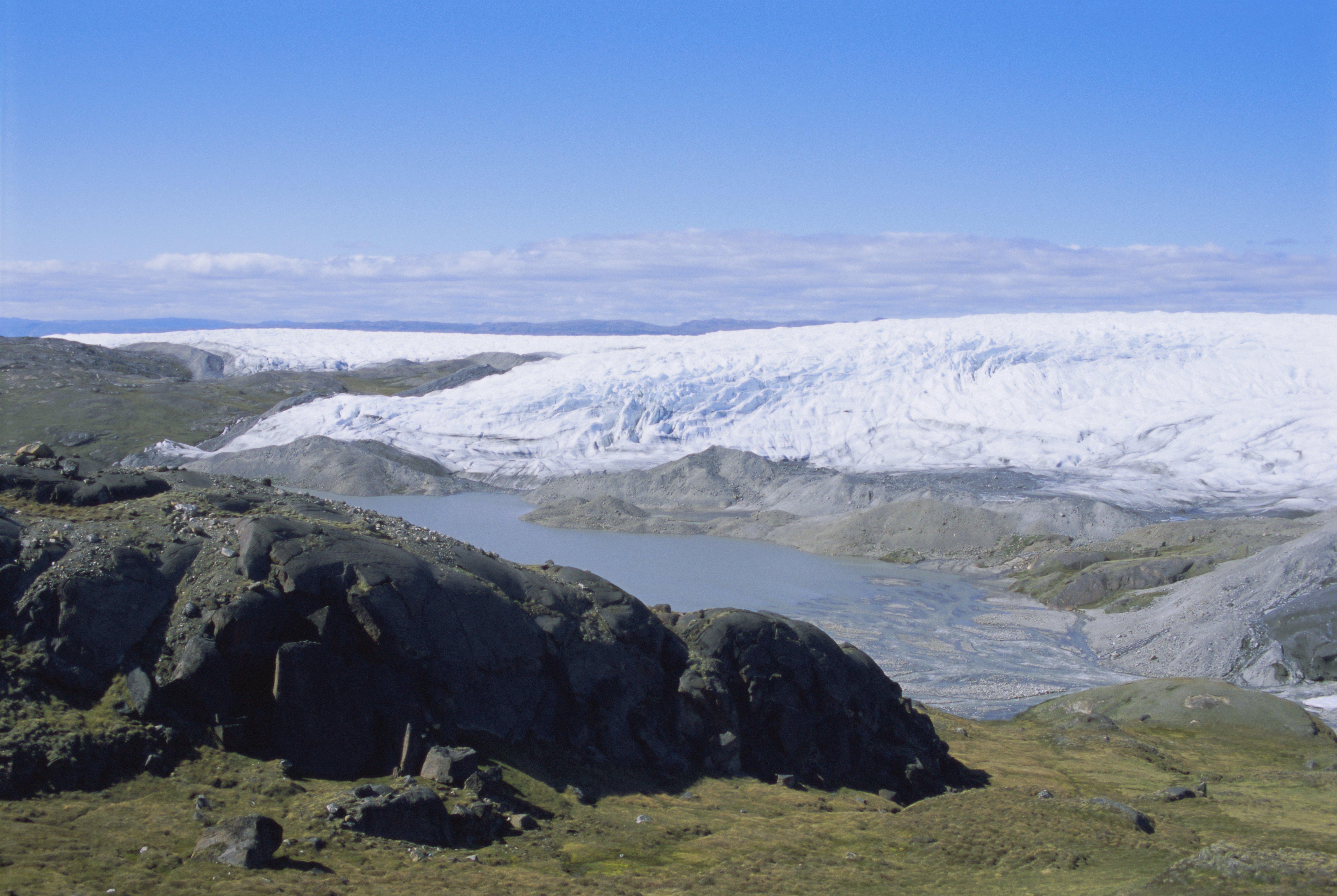 Hatalmas ősi tómedret találtak a grönlandi jégtakaró alatt