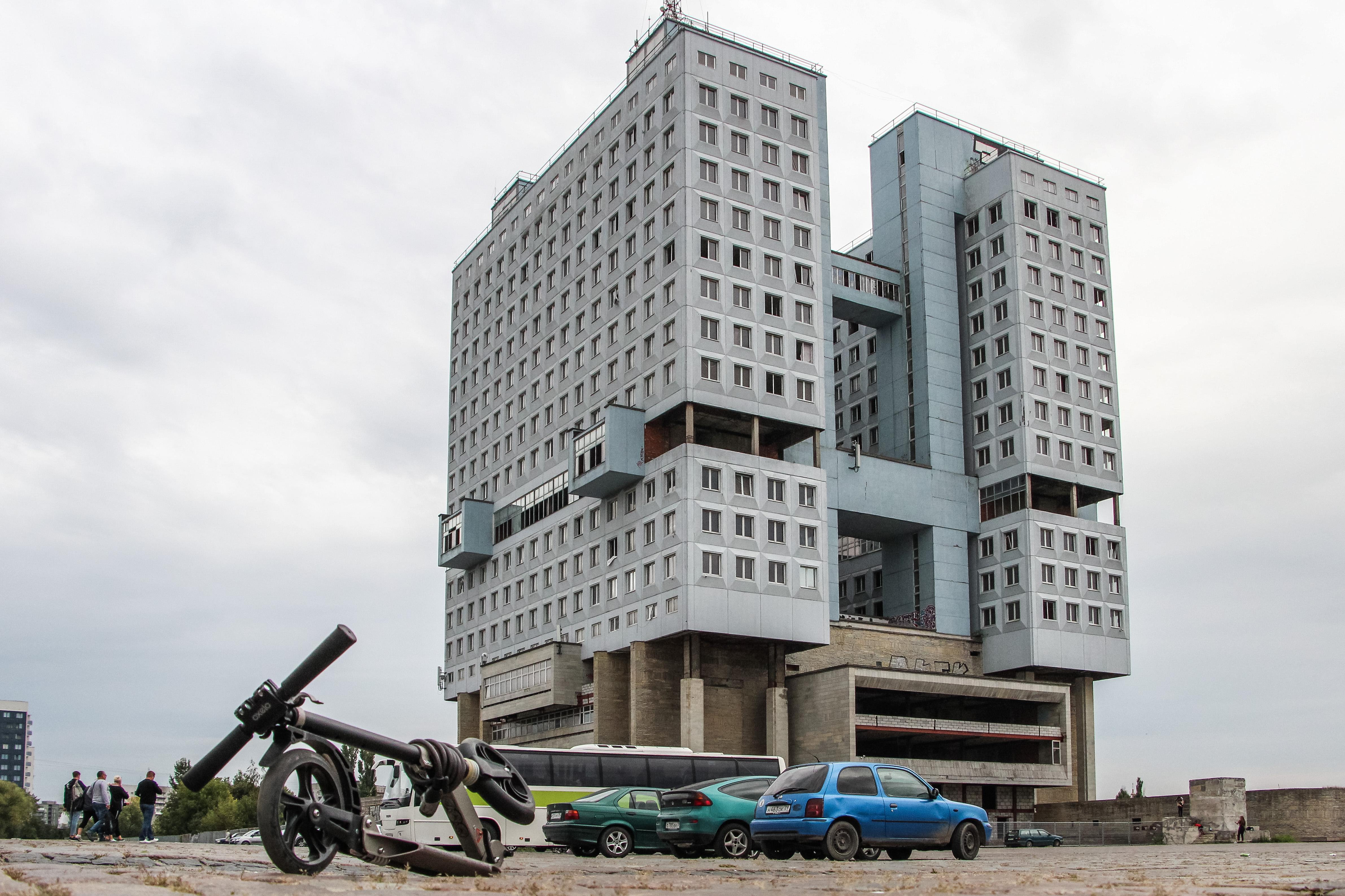 Jövőre lebontják a Kalinyingrád brutalista robotját