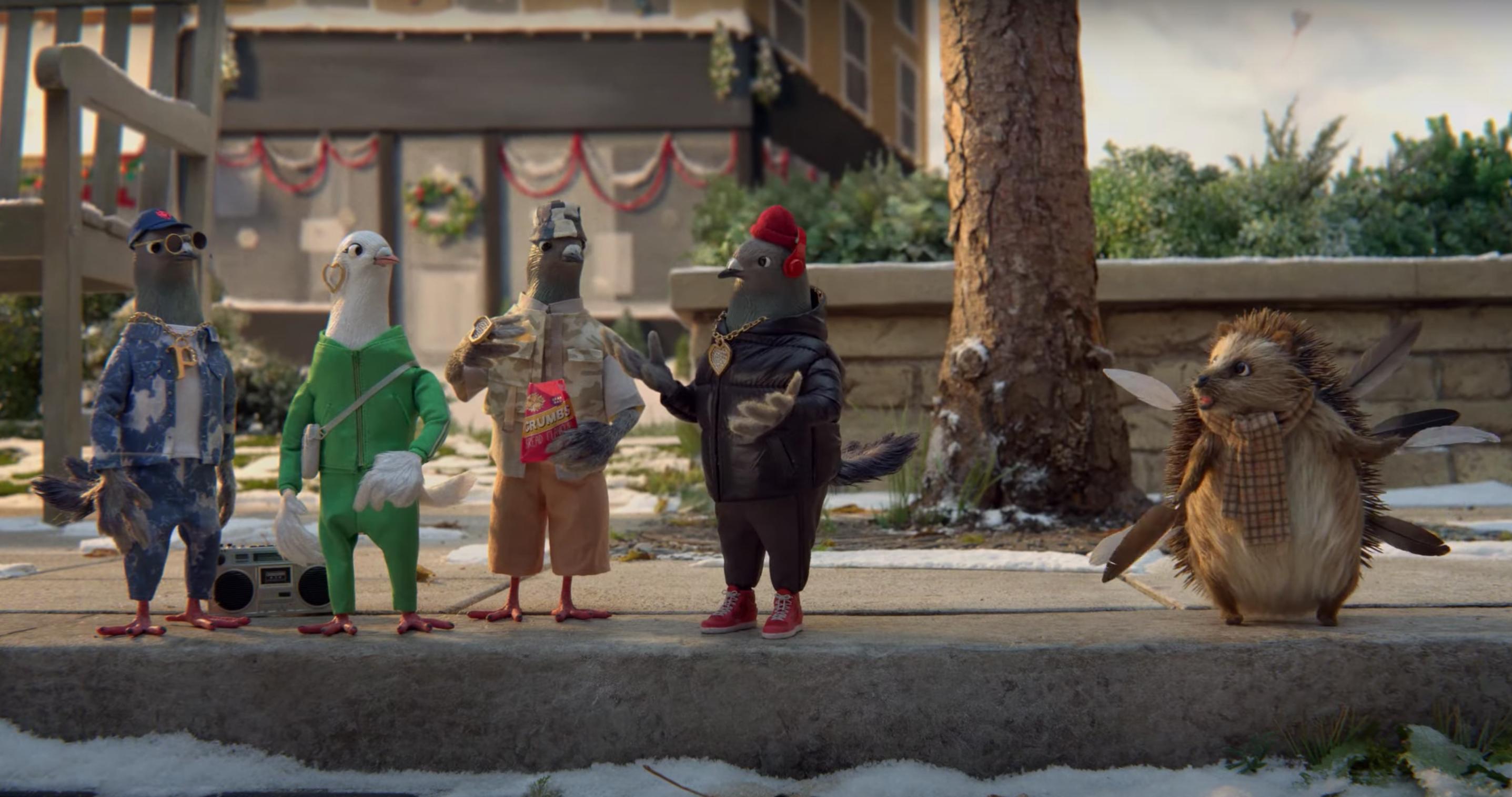 Idén rapper galambokon könnyezve kell várnod a karácsonyt