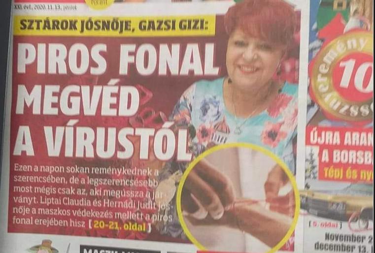 A PIROS FONAL MEGVÉD A VÍRUSTÓL, harsogja címlapján a kormány bulvárlapja, a jobbikos feljelenti