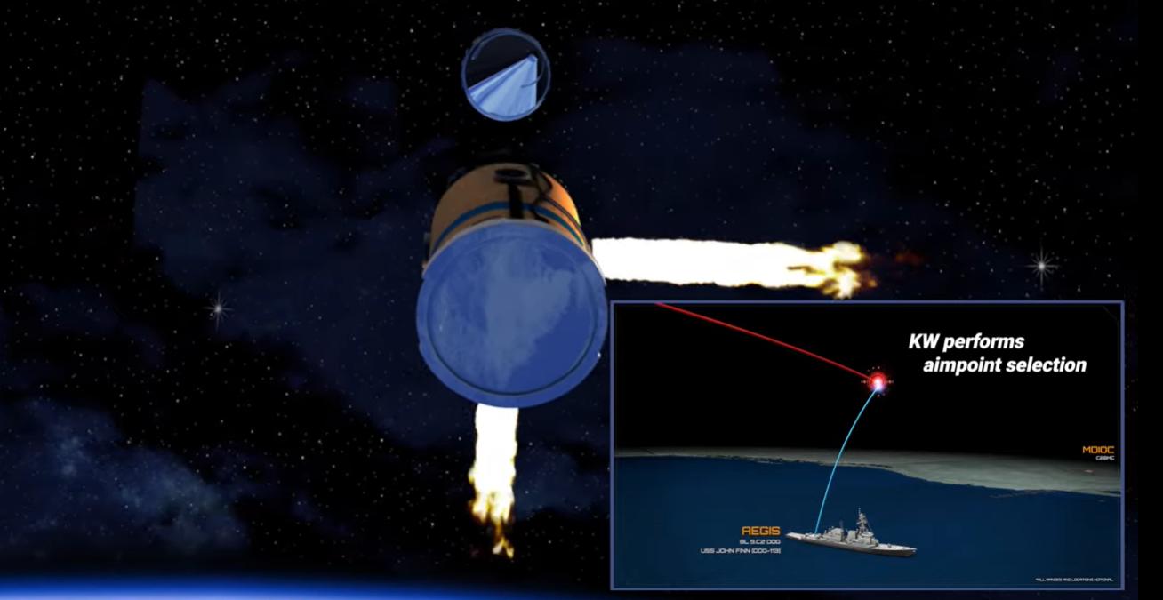 Hadihajóról indított rakétával a világűrben hatástalanított interkontinentális rakétát az amerikai hadsereg