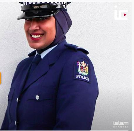 Új-Zélandon hidzsábos egyenruhával csábítják a muszlim nőket a rendőrségbe dolgozni