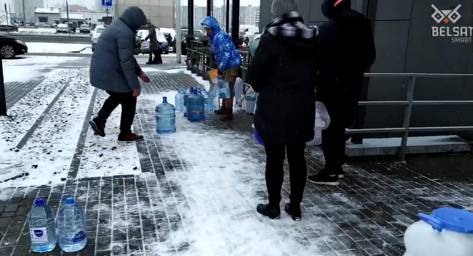 Napok óta nincs víz Minszk legellenzékibb kerületében