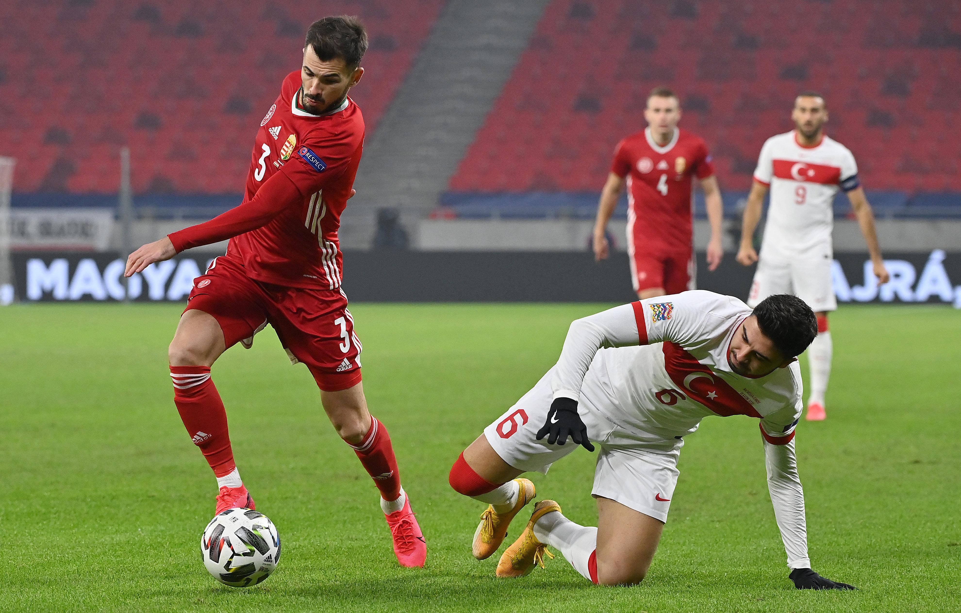 Magyarország - Törökország 2-0, a magyar válogatott csoportgyőztes