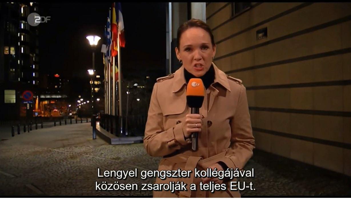 A német köztévében fülenőtt gulyáslevesnek nevezték Orbánt