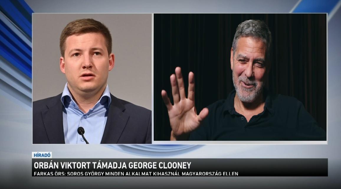 A magyar kormány arra jutott, hogy már George Clooney is Soros György politikai szándékát hajtja végre