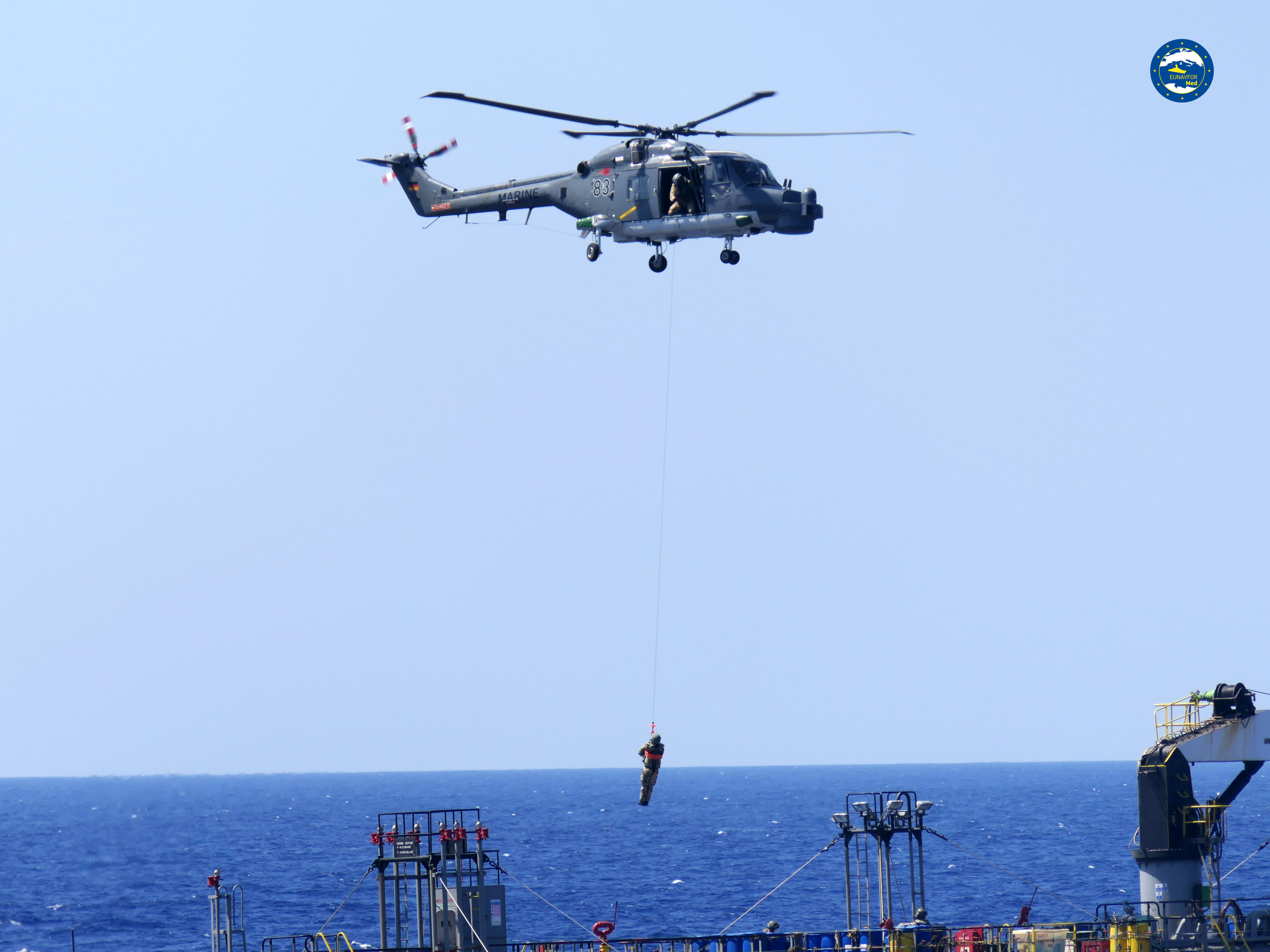 Törökország nem engedte, hogy a német haditengerészet helikopteres egysége megnézze, fegyvert szállít-e egy török teherhajó