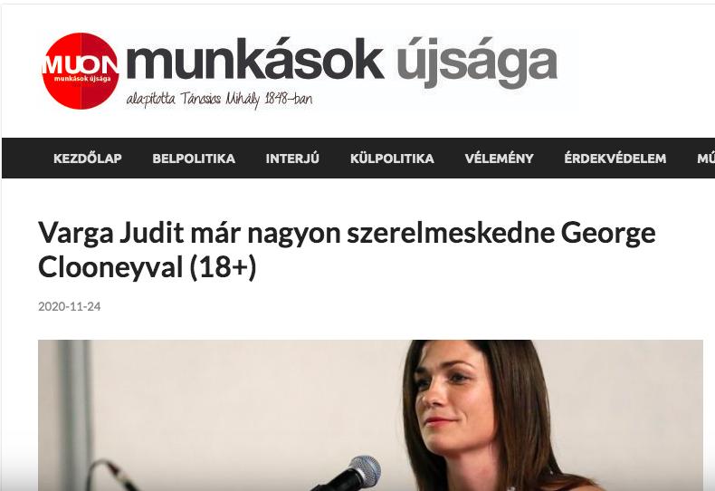 Legalja: primitíven szexista, nőalázó, pornográf cikket írt Varga Judit miniszterről a Szanyi-féle törpepárt lapja