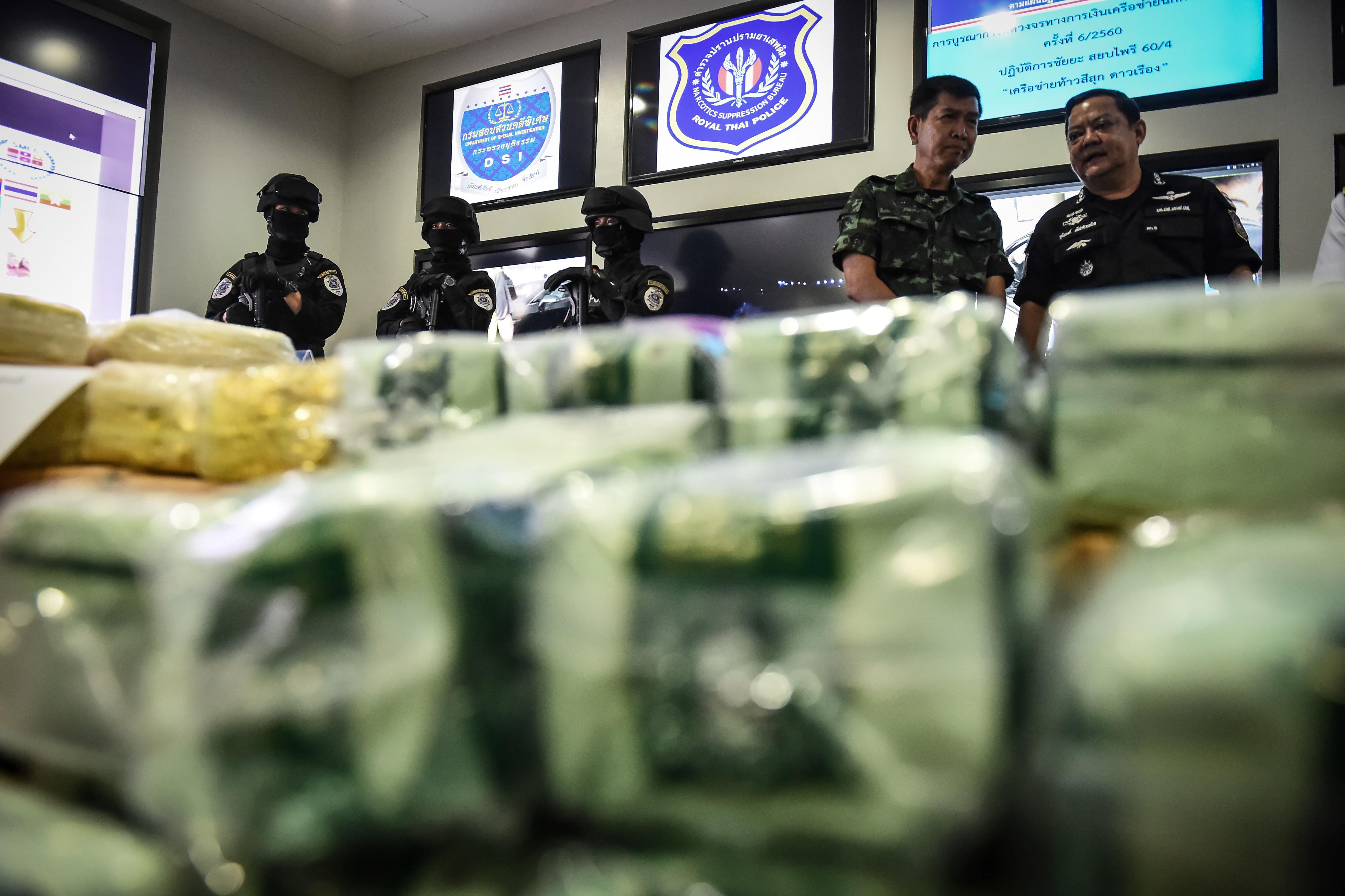 A thai hatóságok azt hitték, volt egy egymilliárd dolláros ketamin fogásuk, de nem
