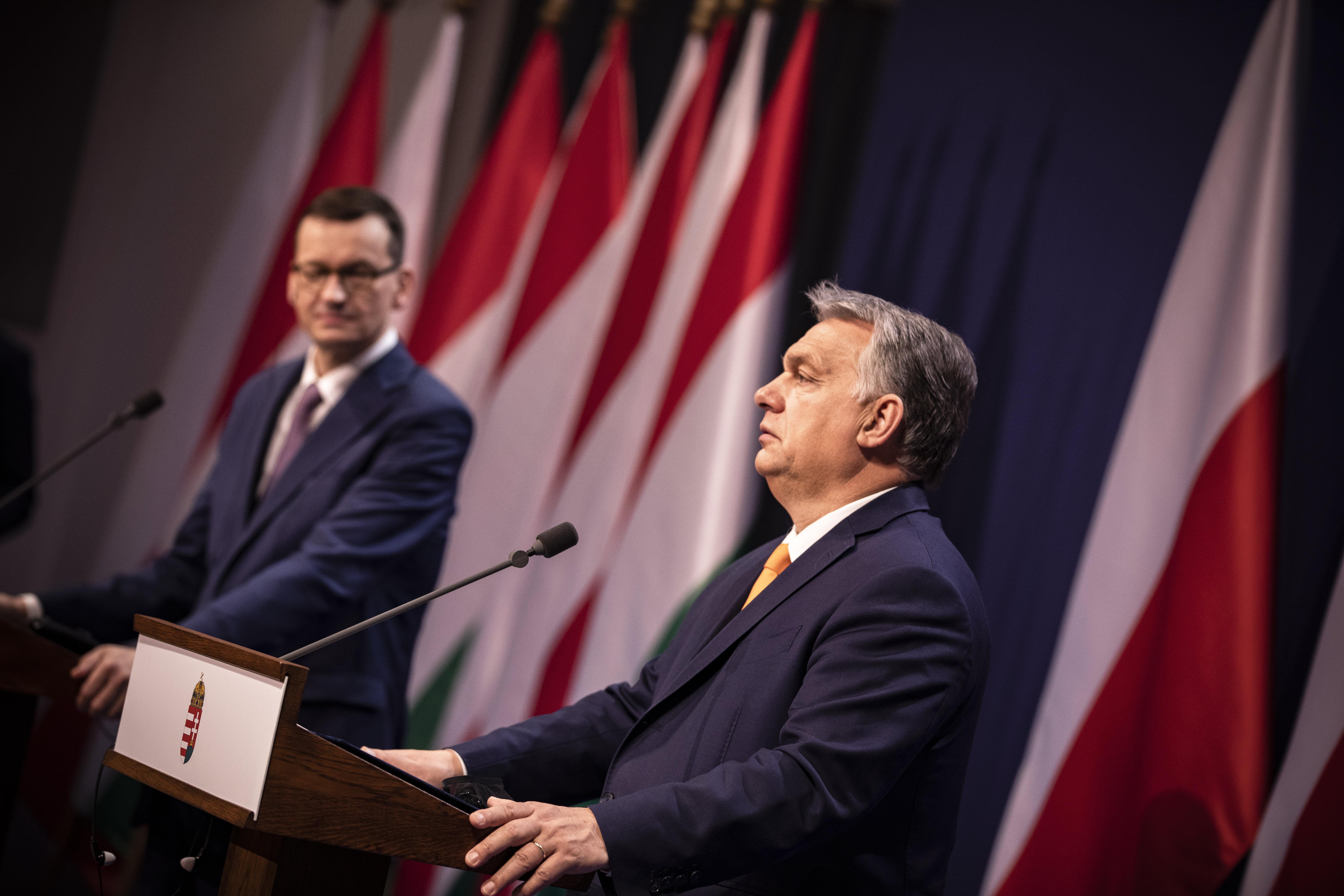Orbán-Morawiecki találkozó: Nem írunk alá semmit, amit Lengyelország nem fogad el