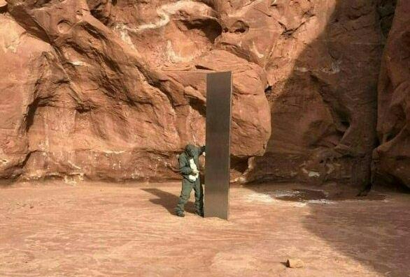 Már el is tűnt a rejtélyes monolit a utah-i sivatagból