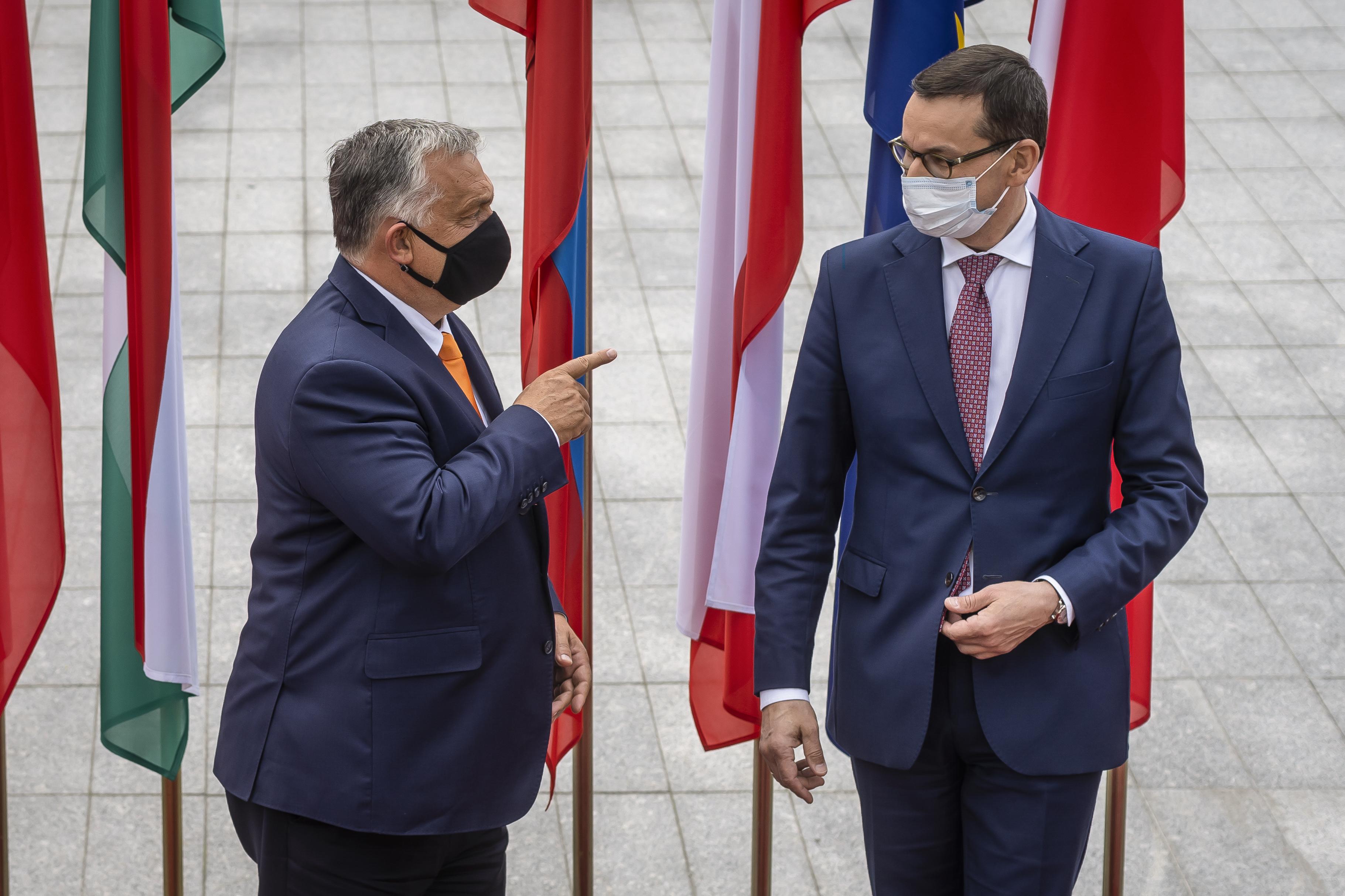 A magyar és a lengyel kormány a német elnökség javaslataira vár, hogy megoldódjon a vétó miatti patthelyzet