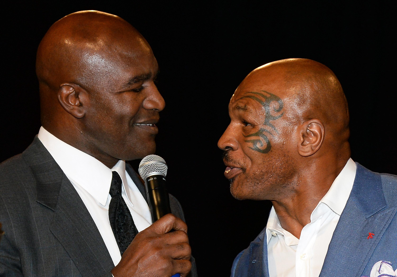 Az 58 éves Evander Holyfield kihívta az 54 éves Mike Tysont