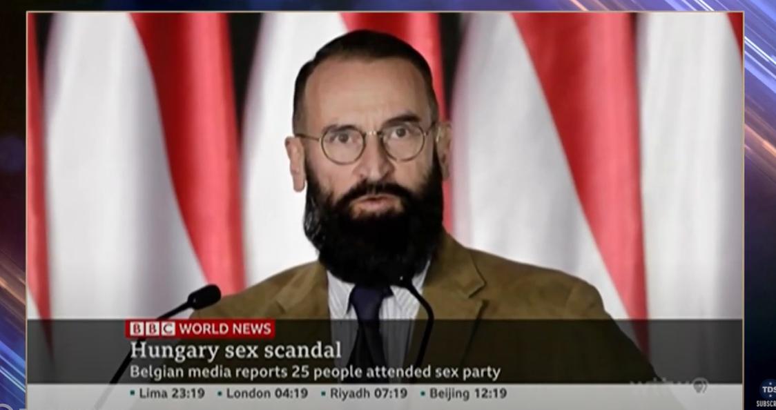 A Daily Showban is téma volt Szájer lebukása