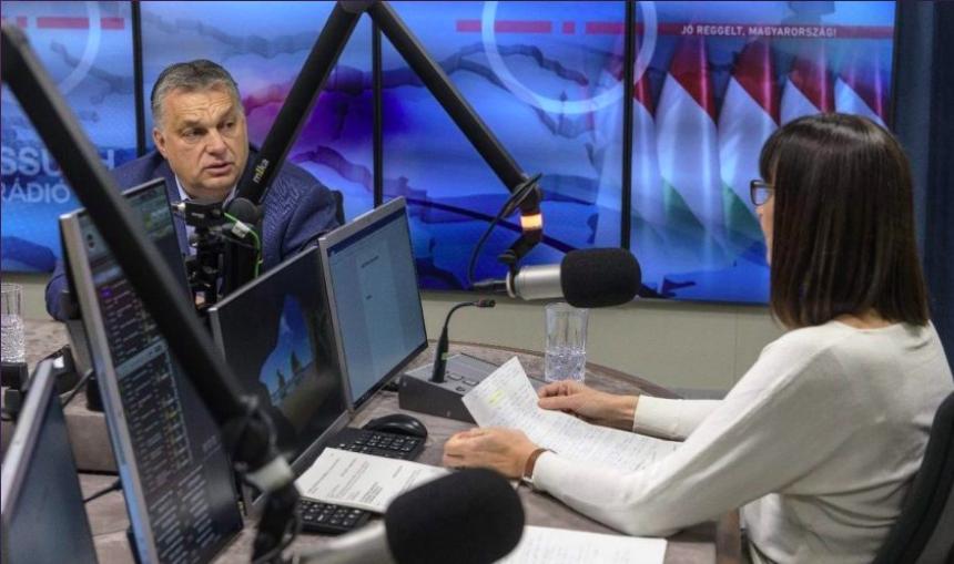 Az egészségügyi dolgozók kapnak majd először a vakcinából, mondta Orbán, aki kitart az uniós vétó mellett