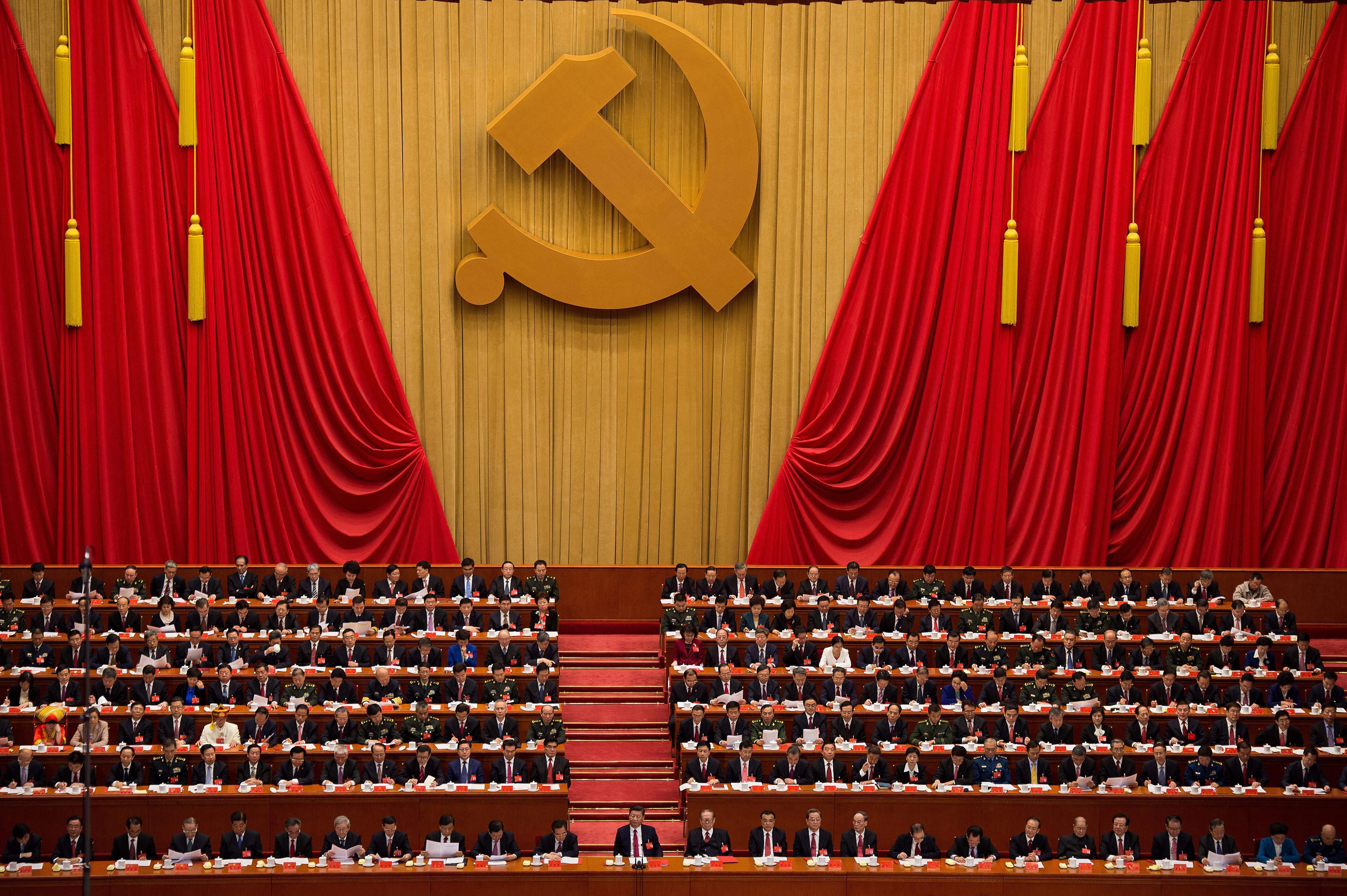 A legnagyobb náci jogász áll a Kínai Kommunista Párt nagy ideológiai fordulata mögött