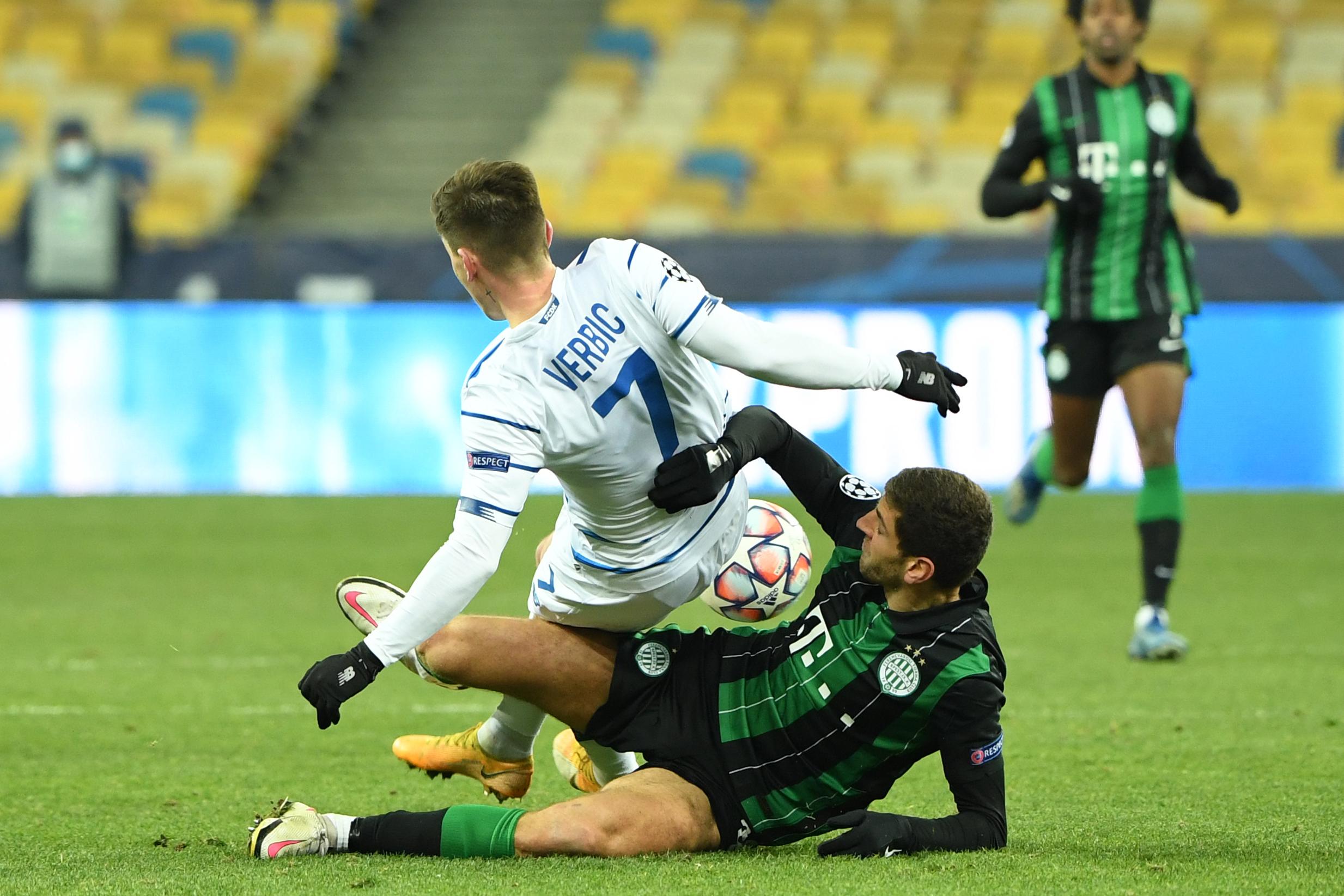 Kikapott a Kijevtől, nem jutott be az Európa-ligába a Ferencváros