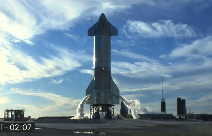 A start előtt 1,3 másodperccel kellett lefújni a SpaceX rakétatesztjét